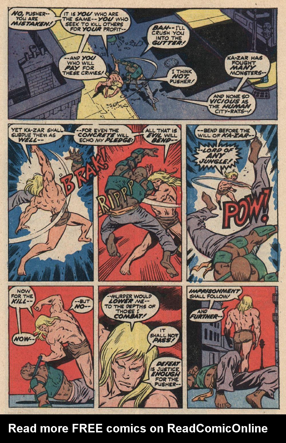 Read online Astonishing Tales (1970) comic -  Issue #16 - 20