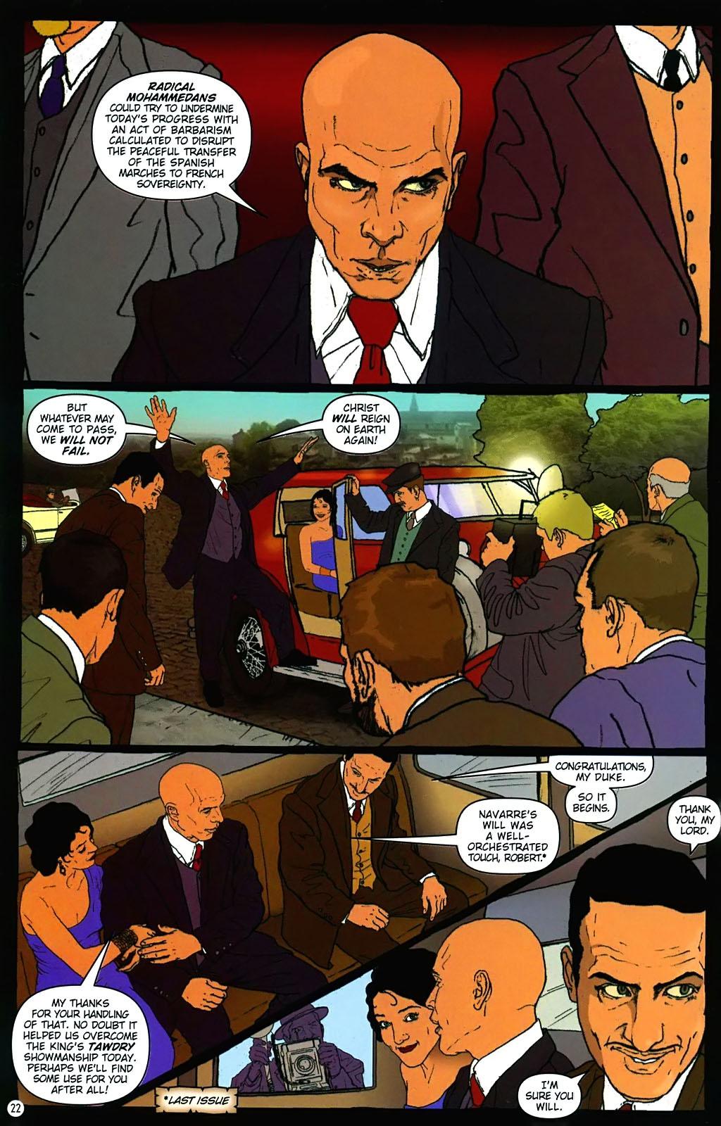 Read online Rex Mundi comic -  Issue #15 - 26