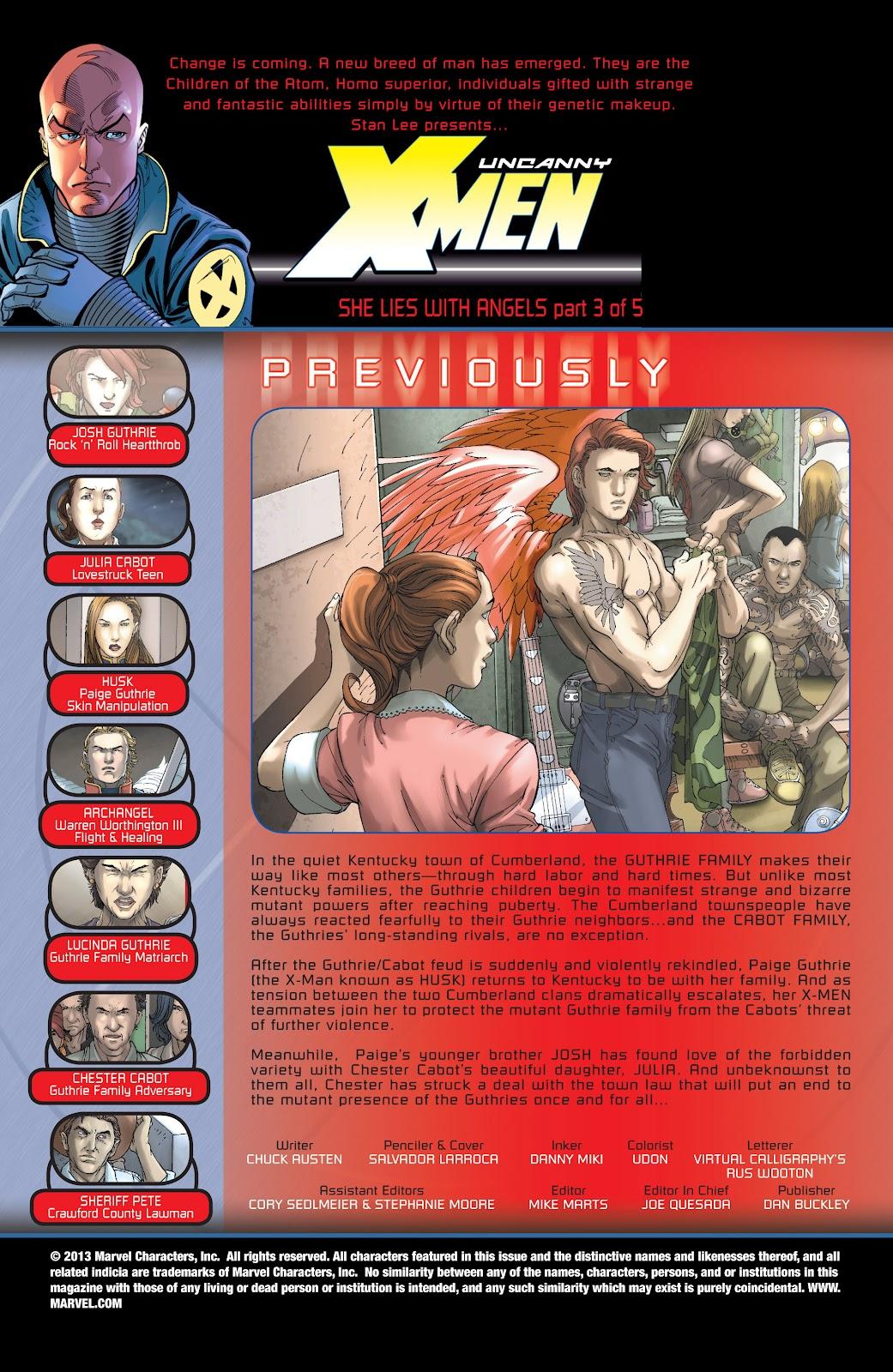 Uncanny X-Men (1963) issue 439 - Page 2
