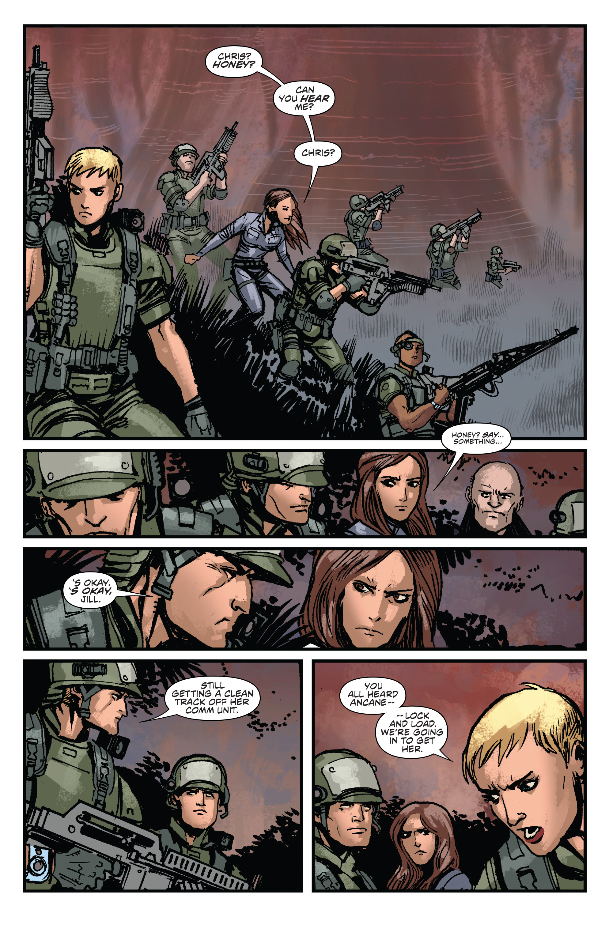 Read online Aliens: Life And Death comic -  Issue #3 - 3