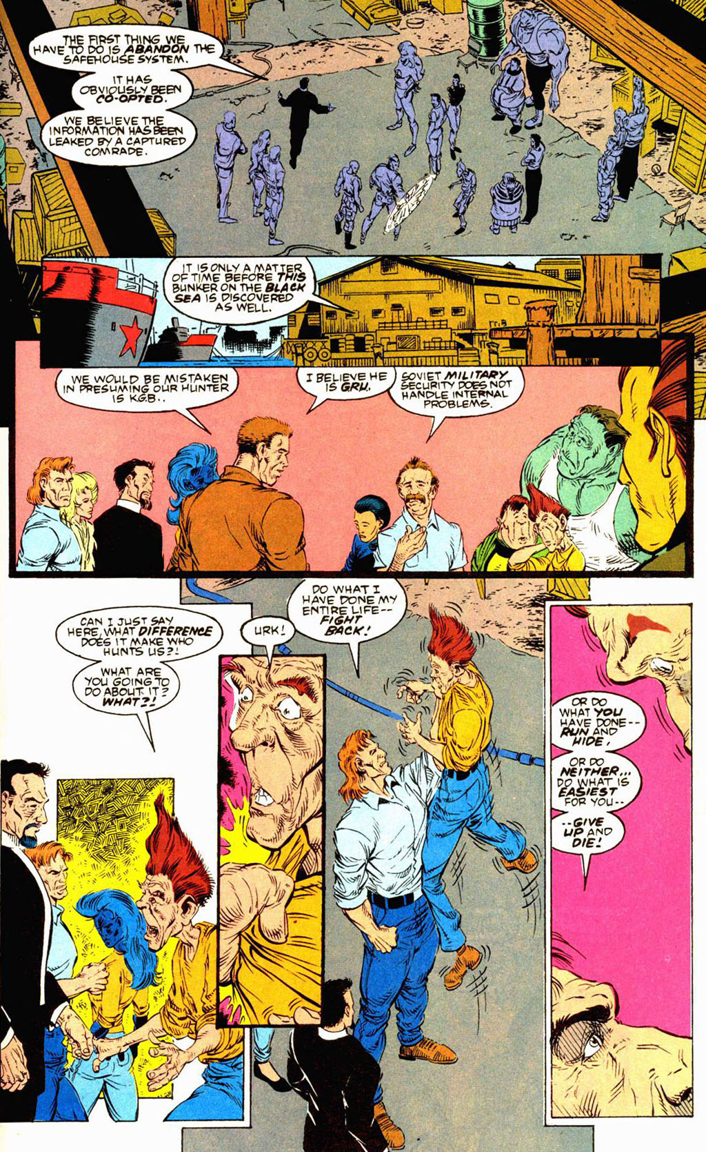 Read online Soviet Super Soldiers comic -  Issue # Full - 42