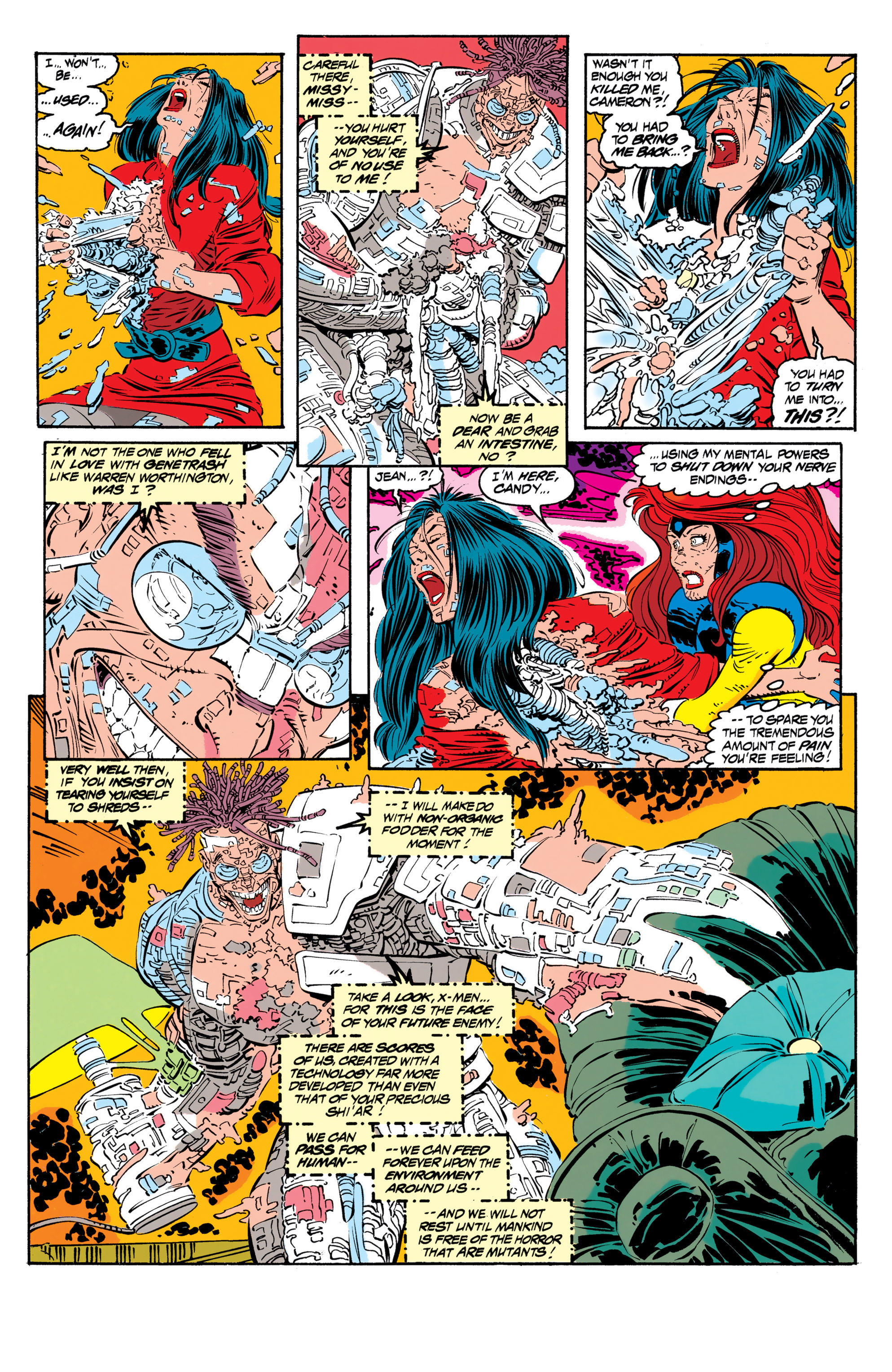 Read online Uncanny X-Men (1963) comic -  Issue #306 - 19