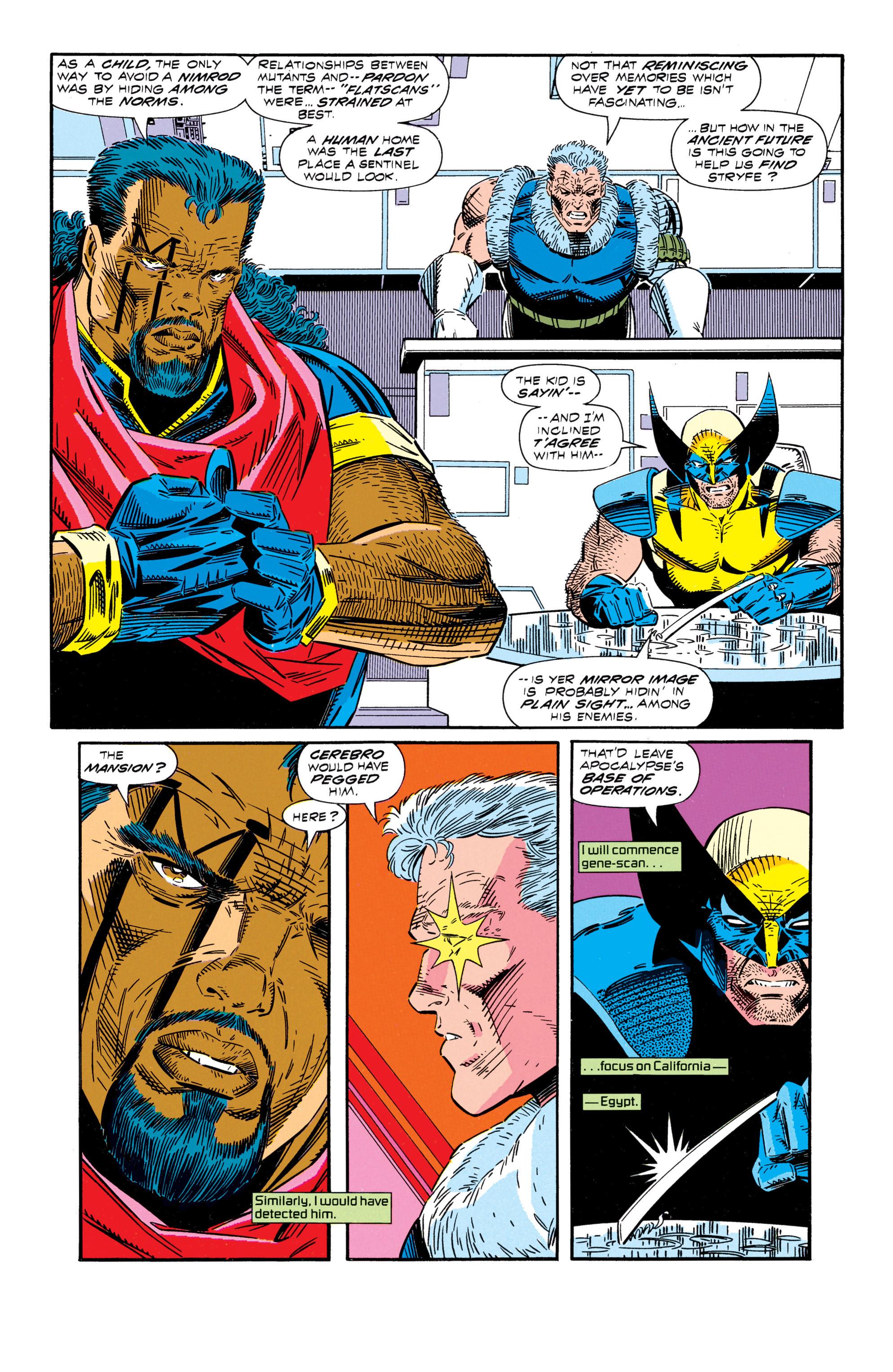 Read online Uncanny X-Men (1963) comic -  Issue #296 - 15