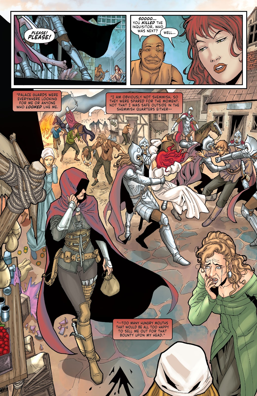 Red Sonja: The Price of Blood issue 2 - Page 8