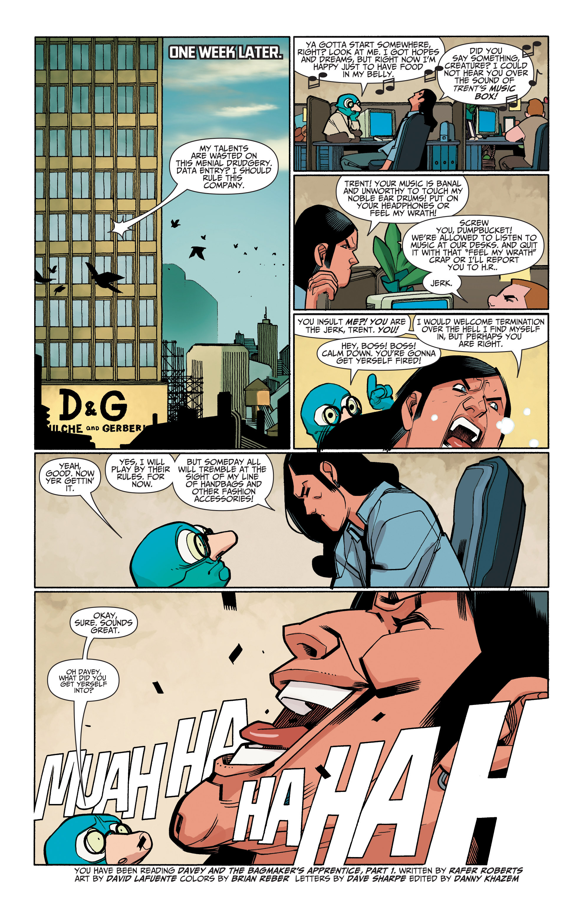 Read online A&A: The Adventures of Archer & Armstrong comic -  Issue #6 - 24