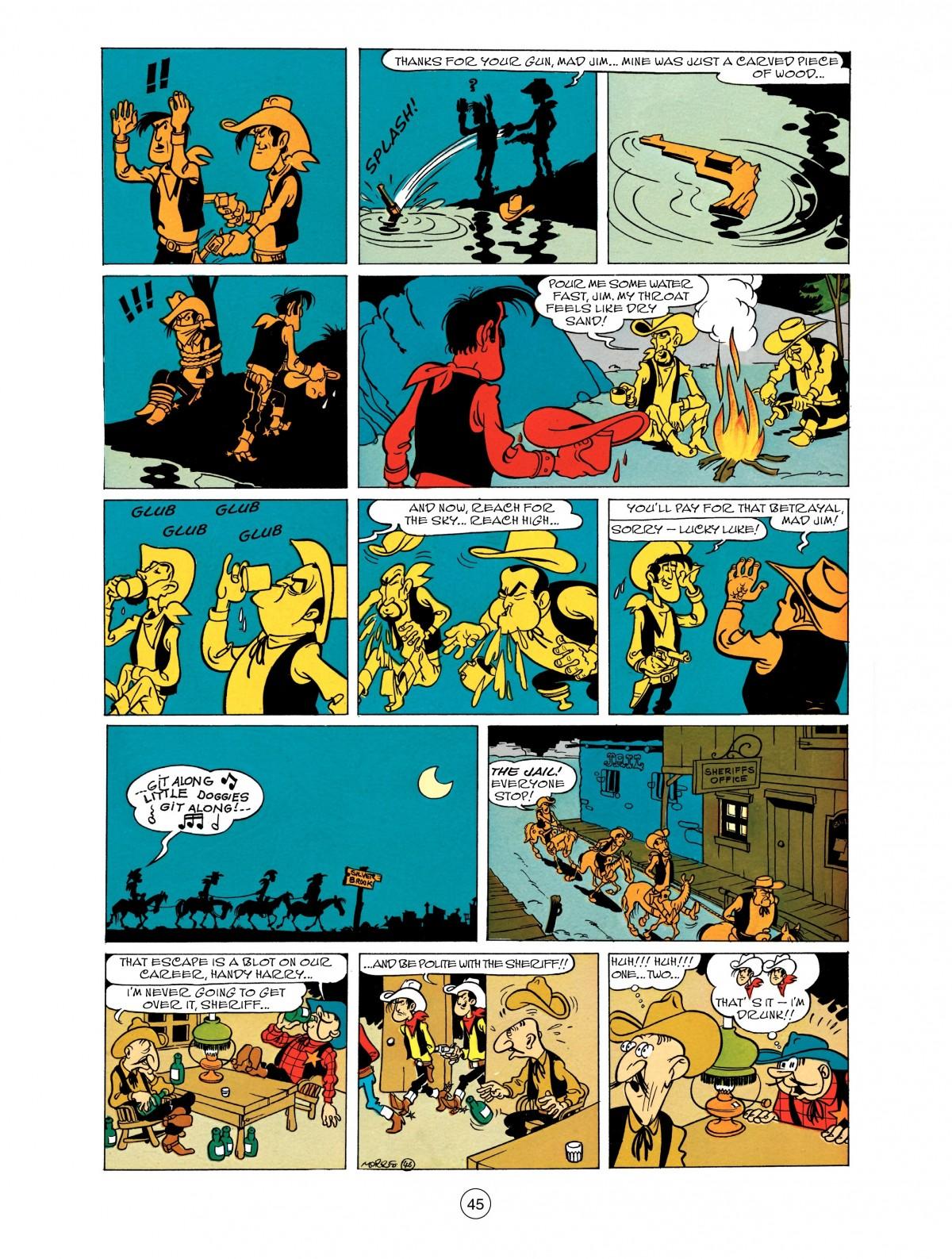 Read online A Lucky Luke Adventure comic -  Issue #48 - 45