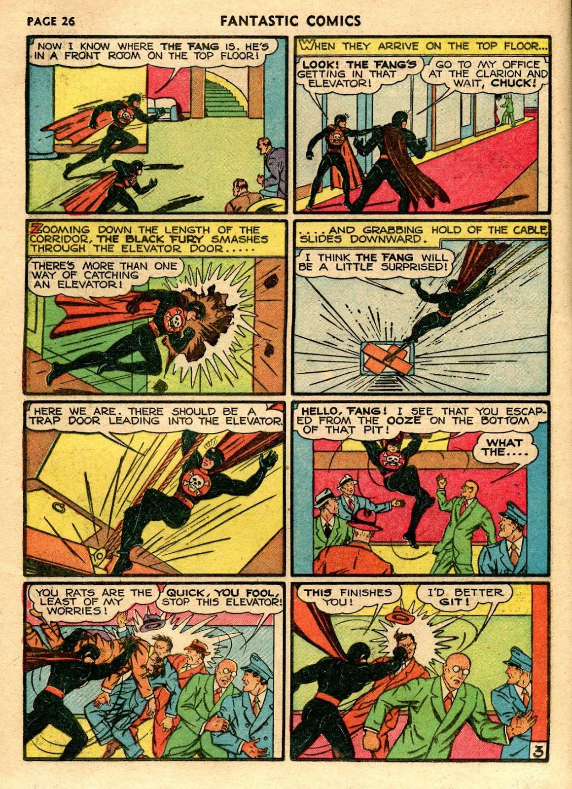 Read online Fantastic Comics comic -  Issue #21 - 28