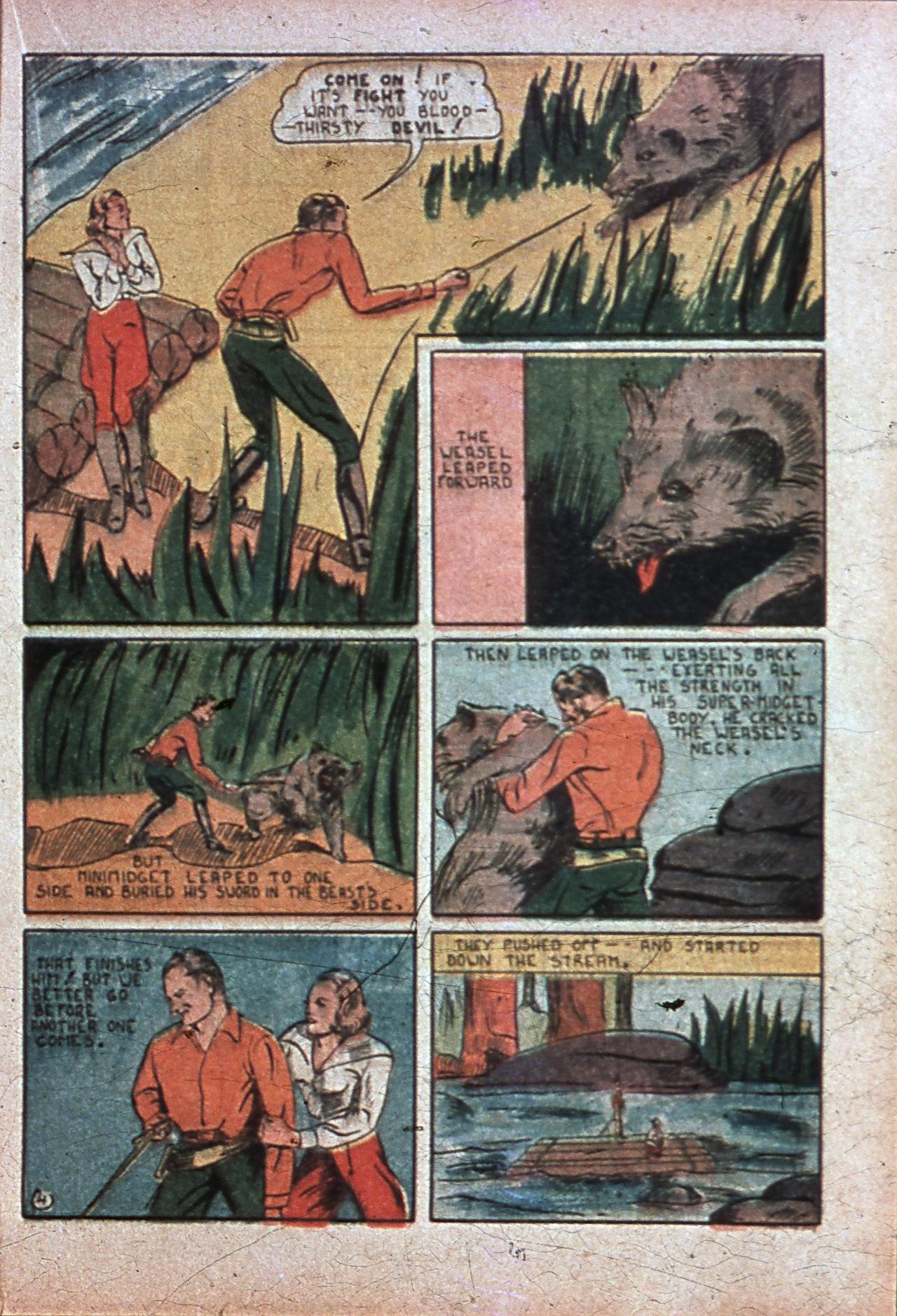 Read online Amazing Man Comics comic -  Issue #7 - 40