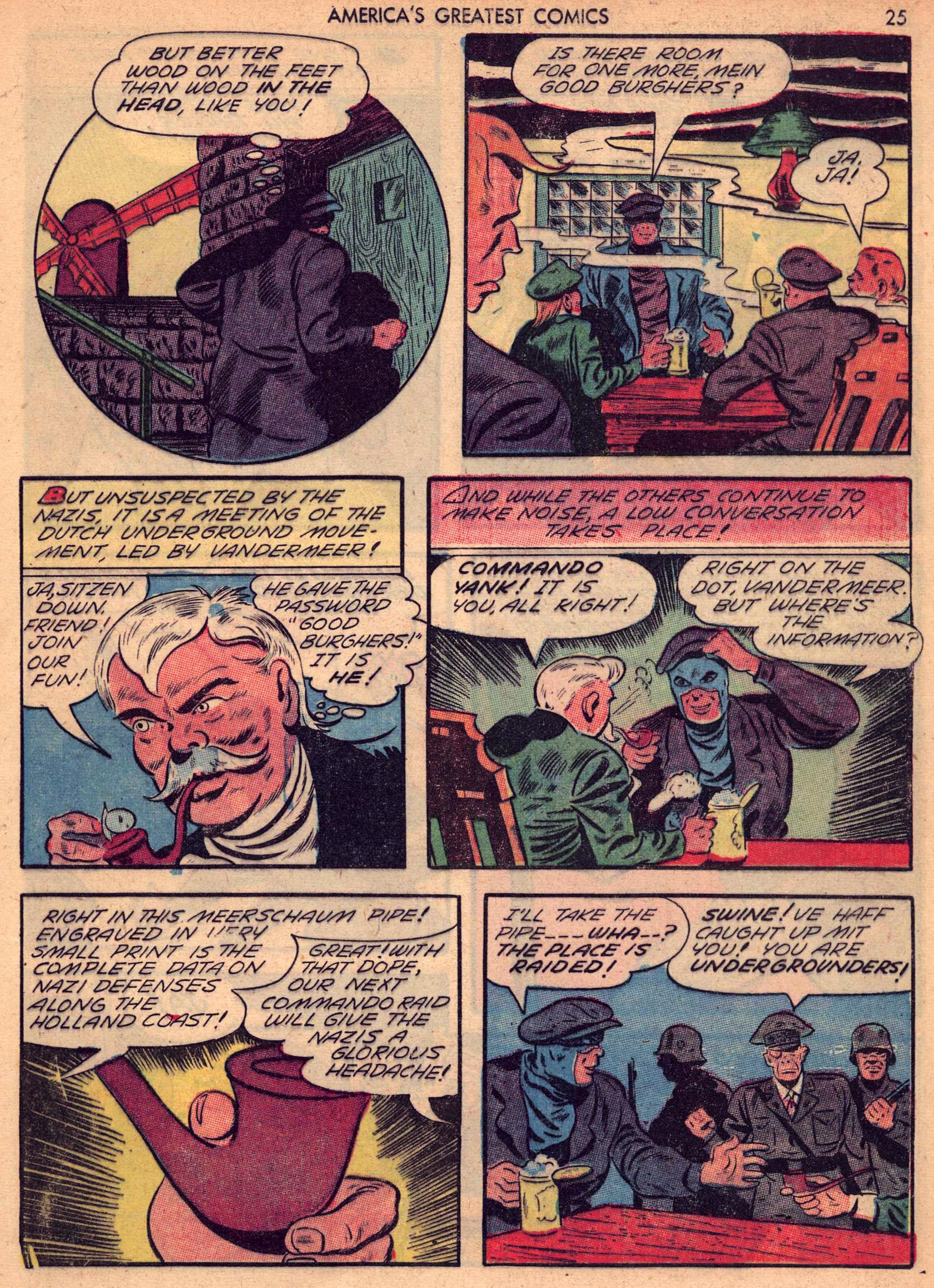 Read online America's Greatest Comics comic -  Issue #7 - 24