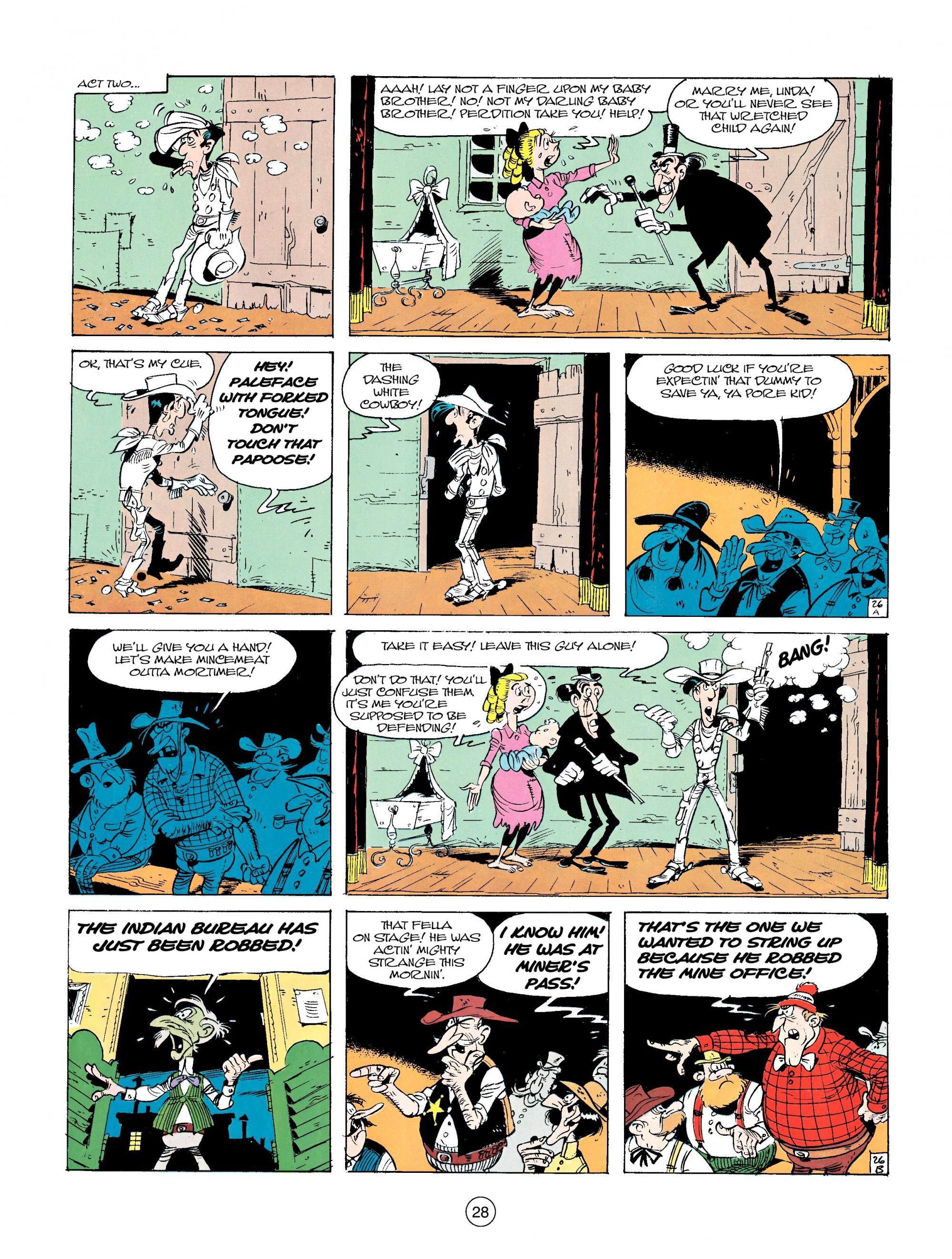 Read online A Lucky Luke Adventure comic -  Issue #14 - 28