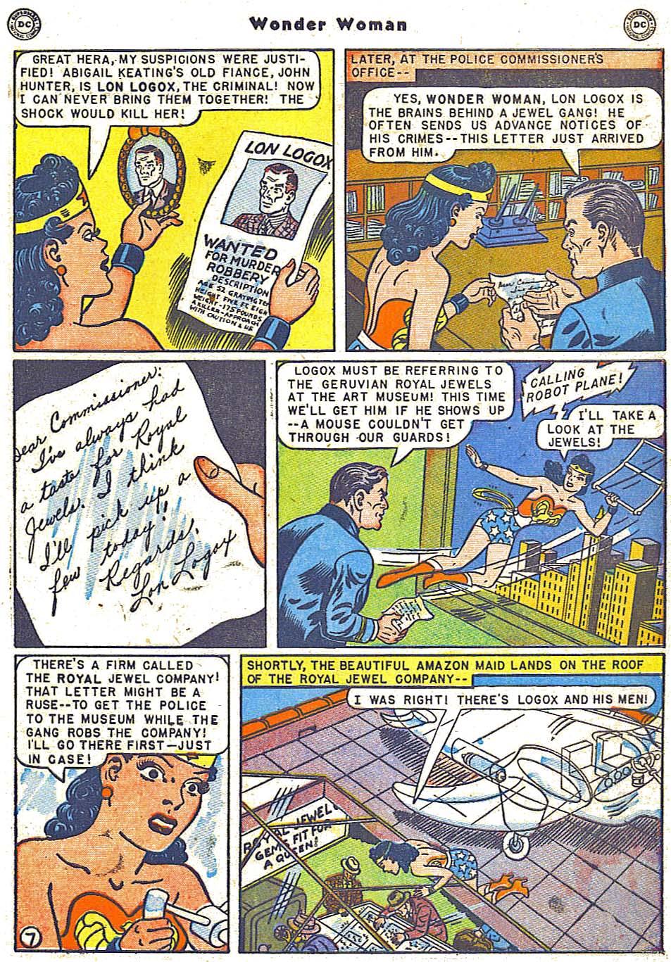 Read online Wonder Woman (1942) comic -  Issue #38 - 9