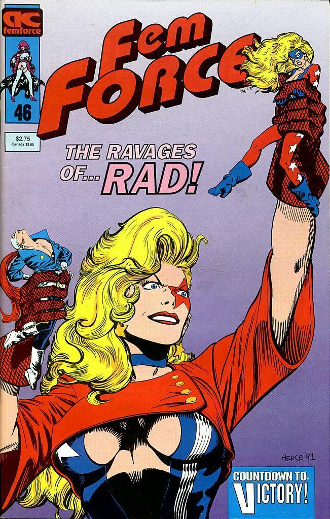 Femforce Issue #46 #46 - English 1