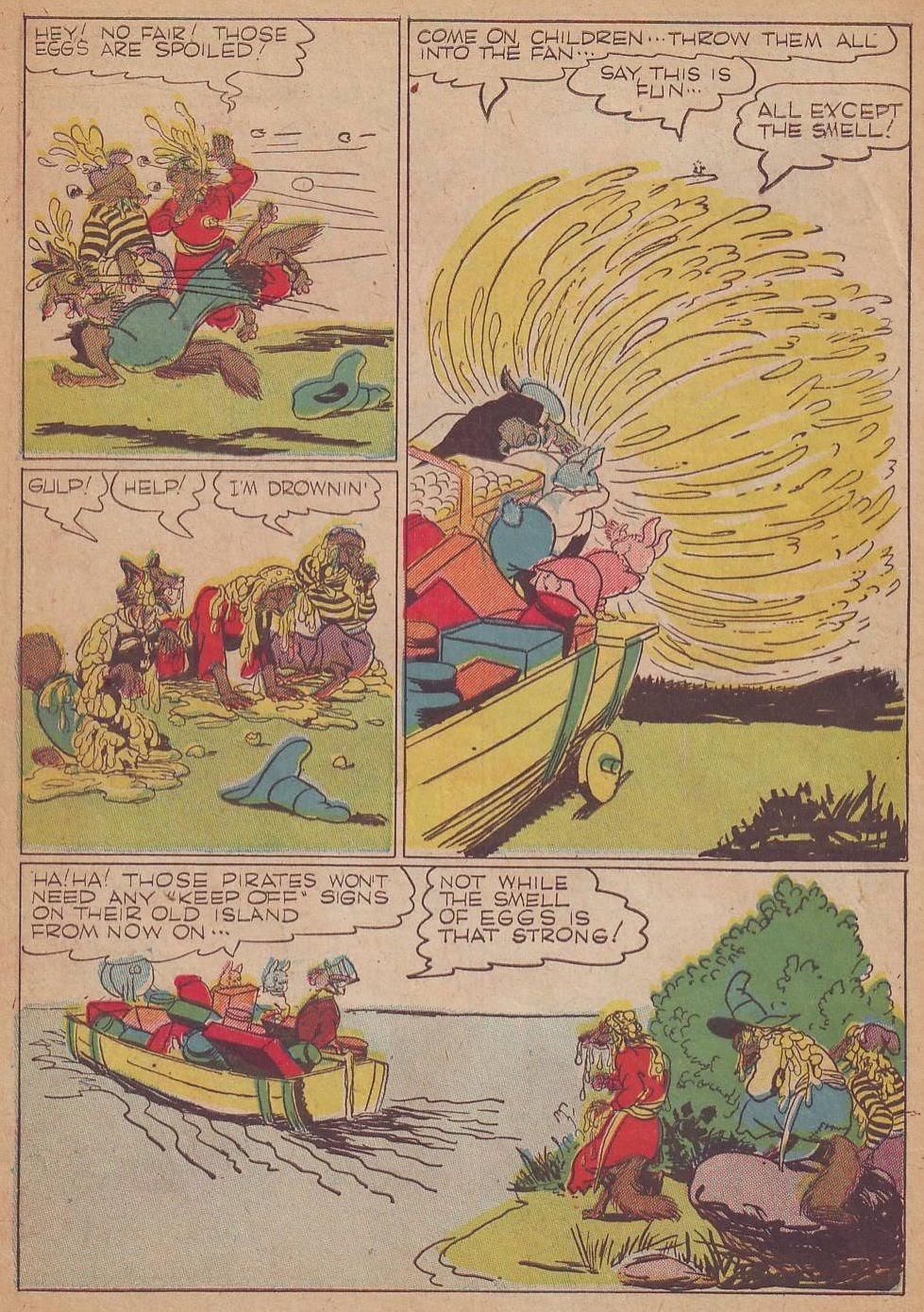 Read online Animal Comics comic -  Issue #8 - 14