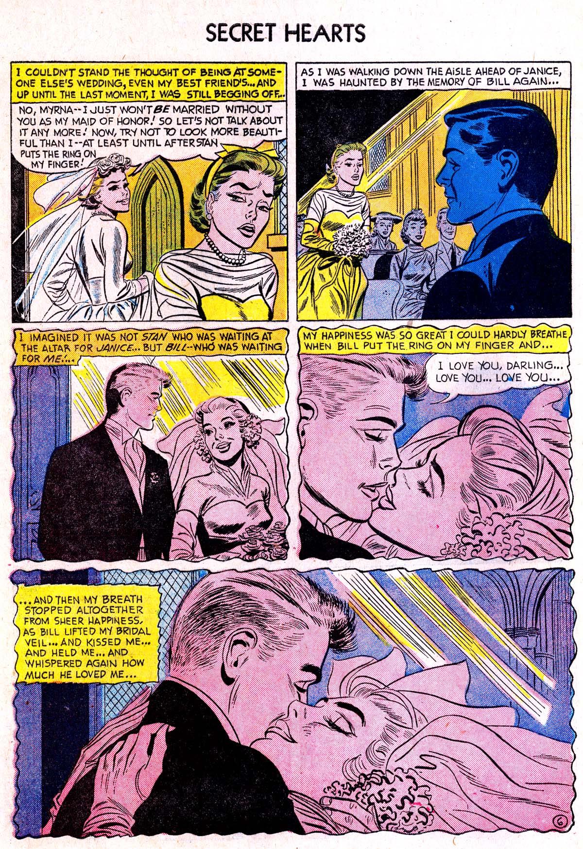Read online Secret Hearts comic -  Issue #38 - 32