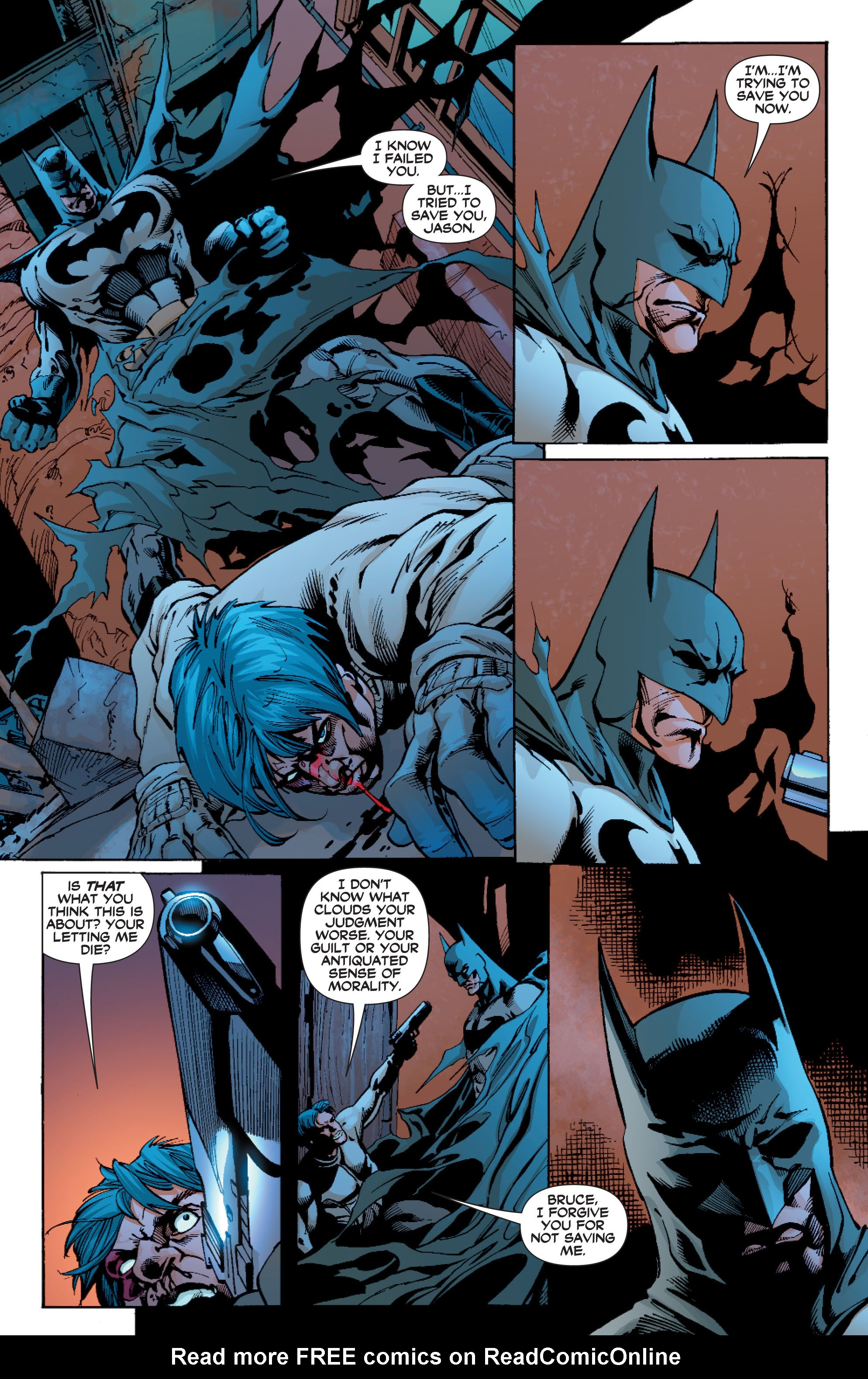 Read online Batman: Under The Red Hood comic -  Issue # Full - 303