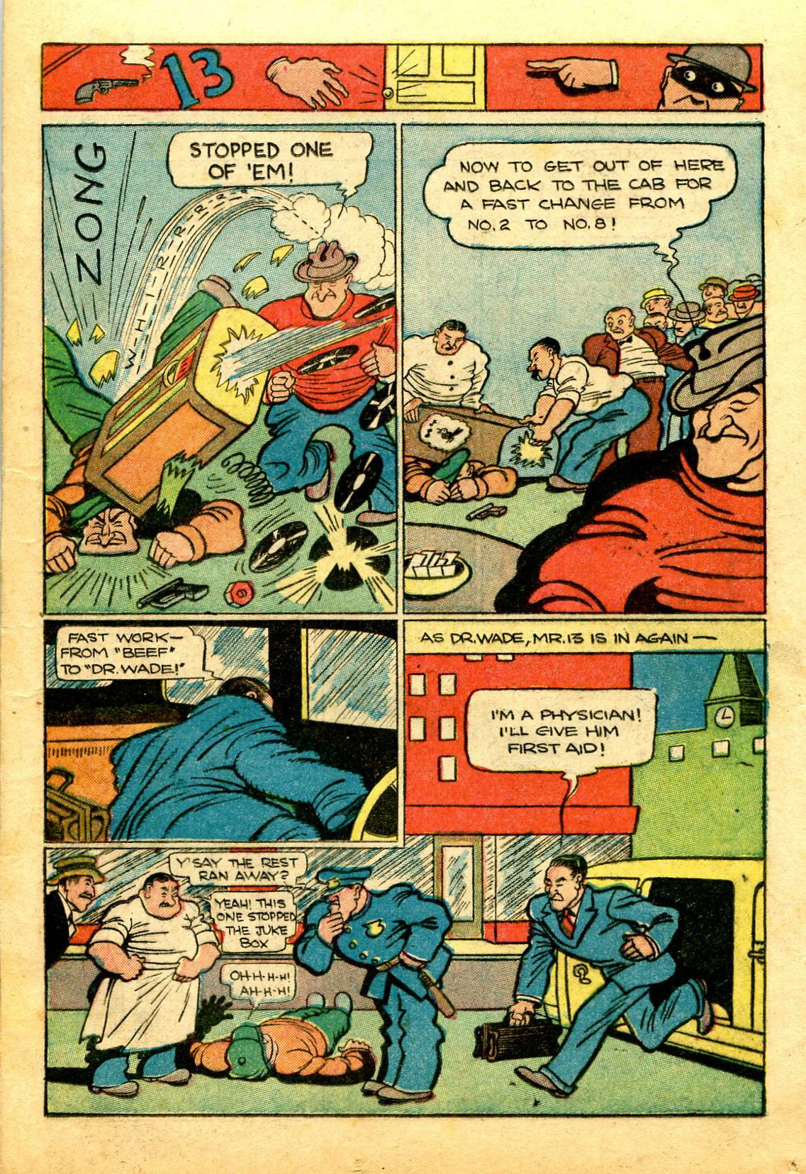 Read online Shadow Comics comic -  Issue #43 - 23