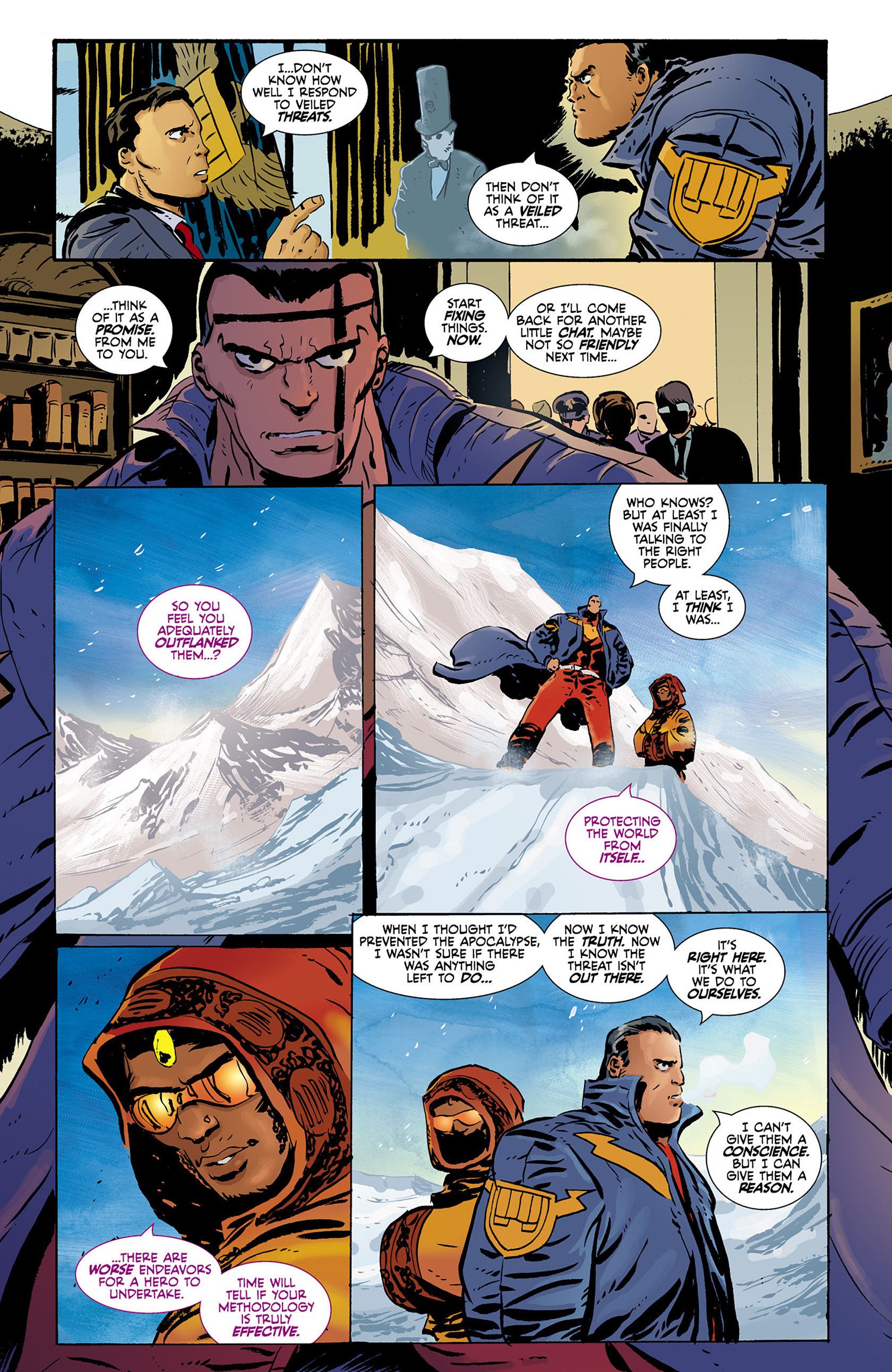 Read online Catalyst Comix comic -  Issue #9 - 23