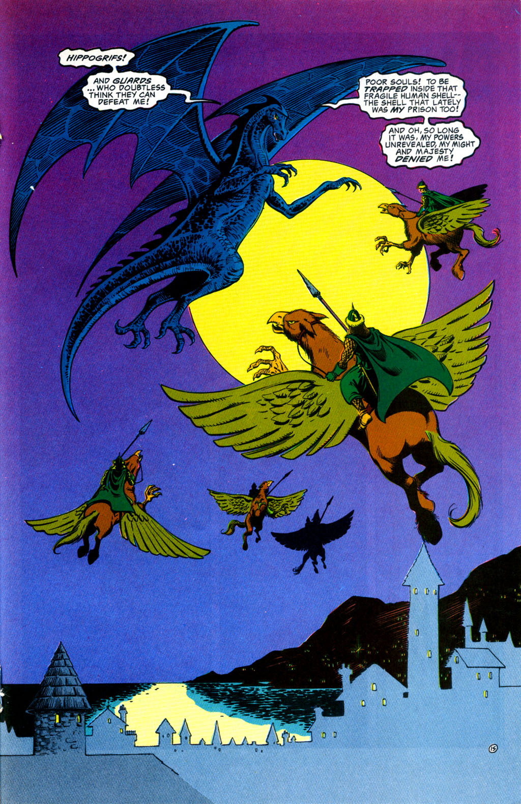 Read online Advanced Dungeons & Dragons comic -  Issue #30 - 15