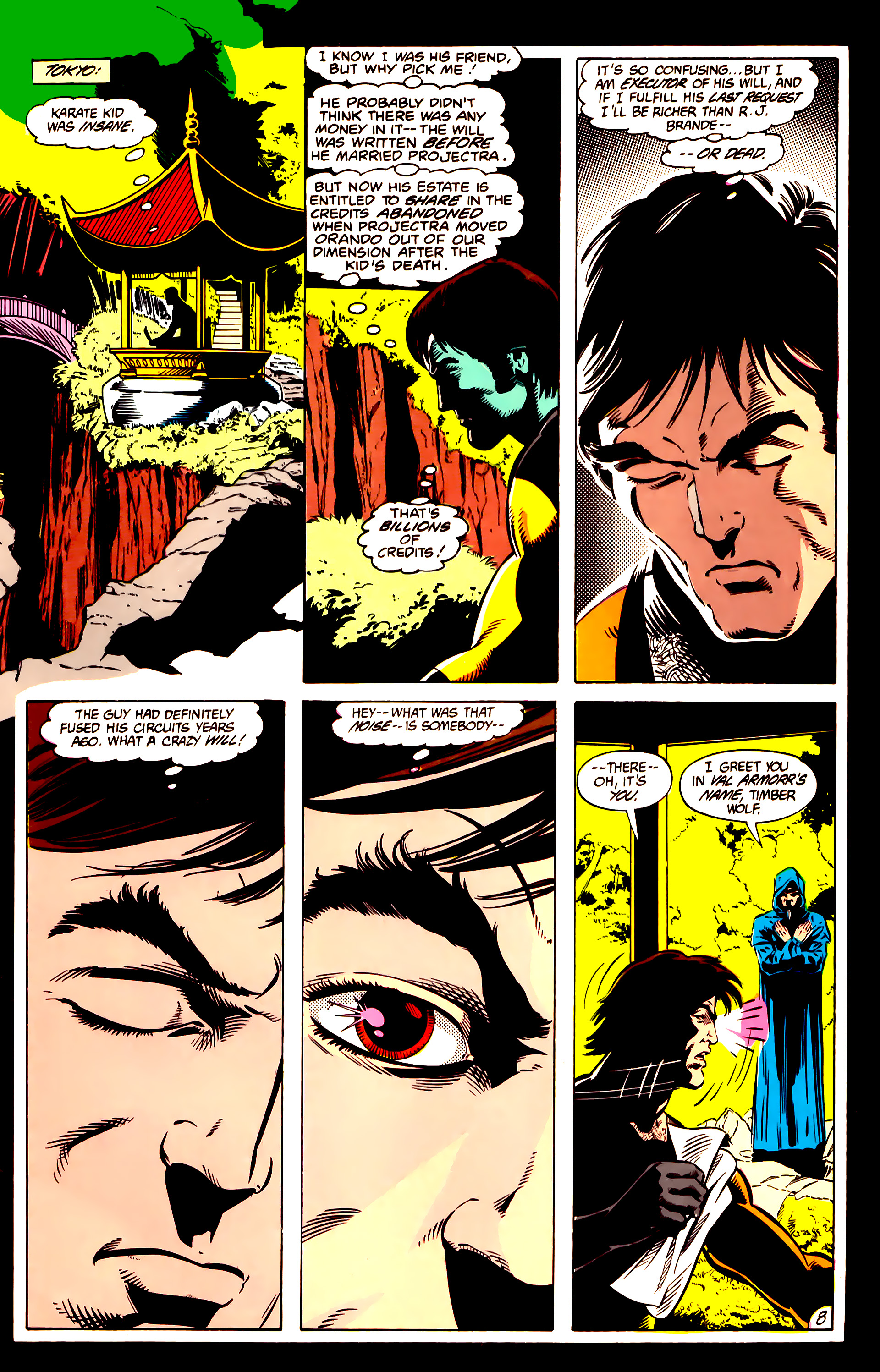 Legion of Super-Heroes (1984) 10 Page 9