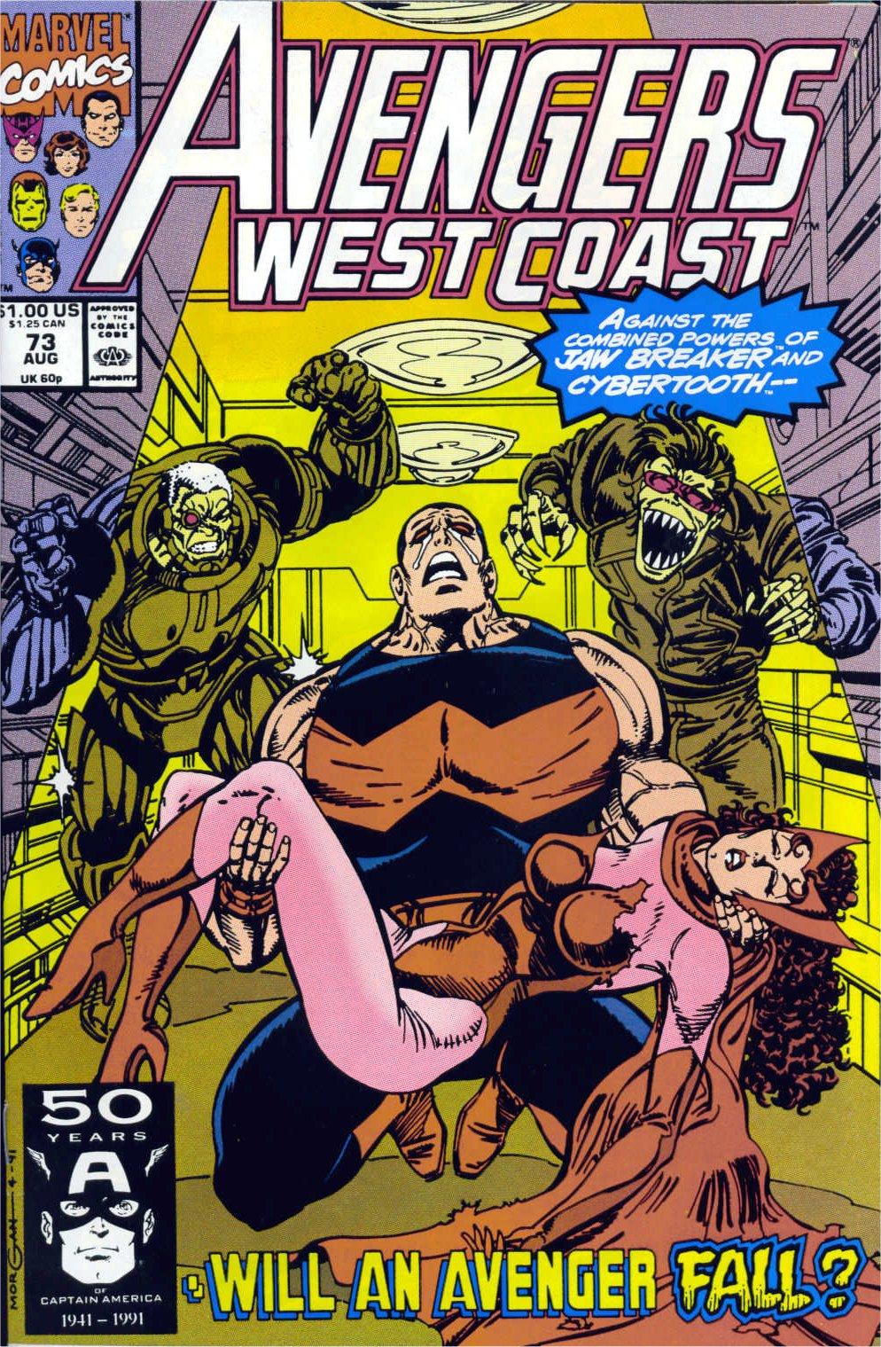 Avengers West Coast (1989) 73 Page 1