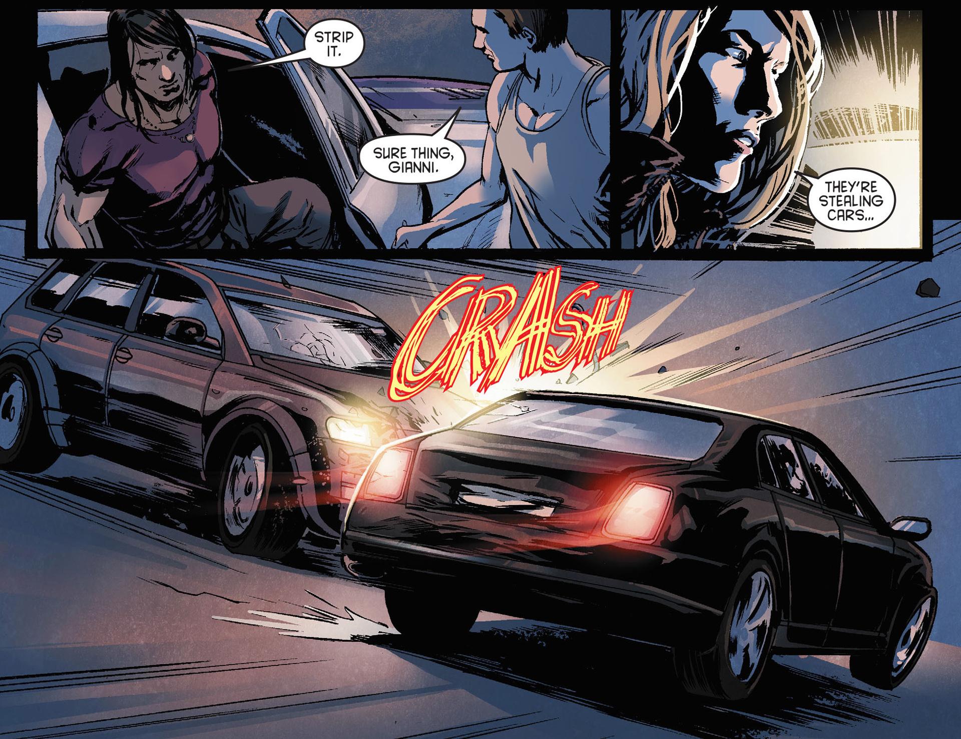 Read online Arrow [II] comic -  Issue #21 - 14