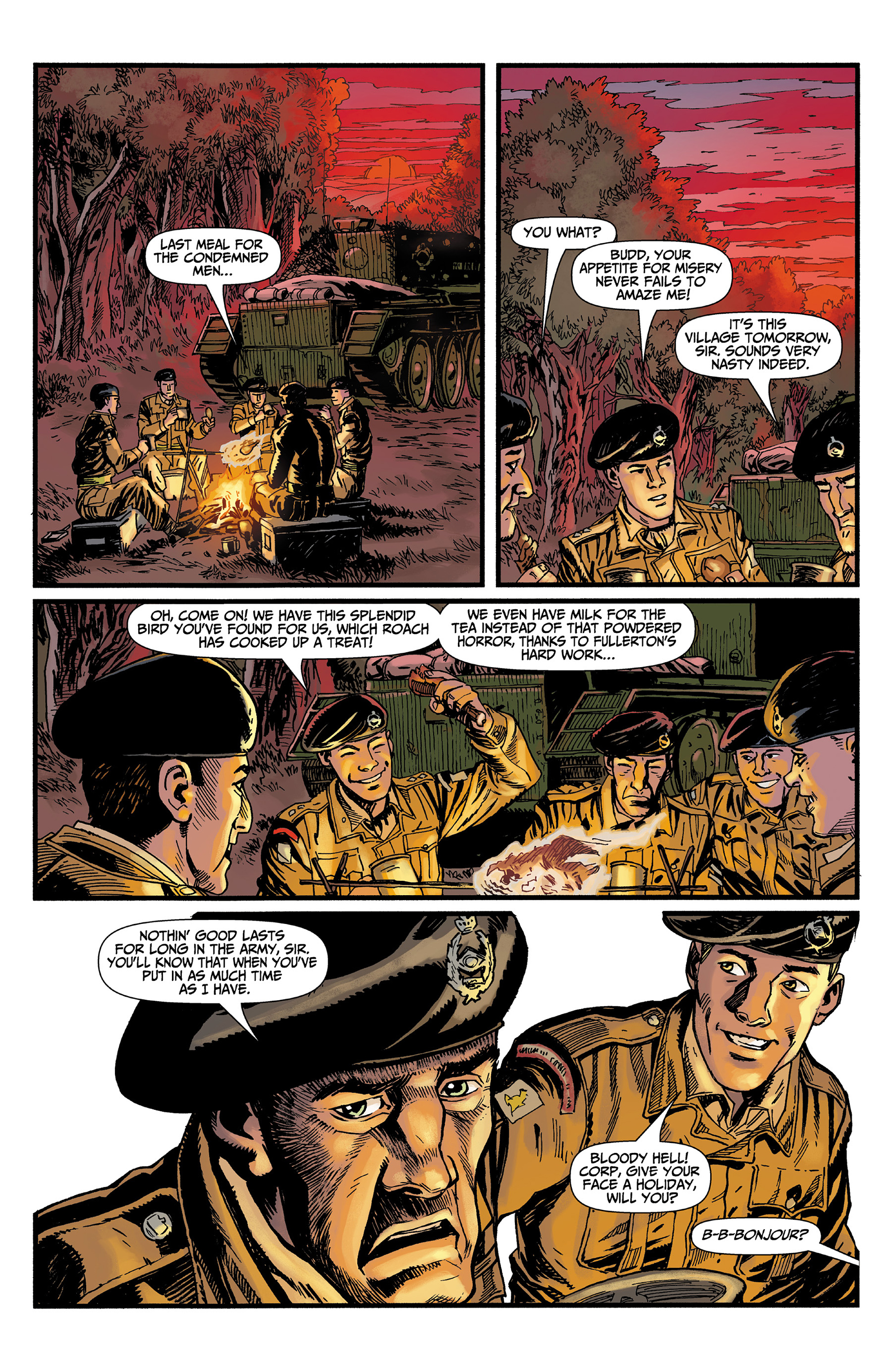 Read online World of Tanks comic -  Issue #3 - 13