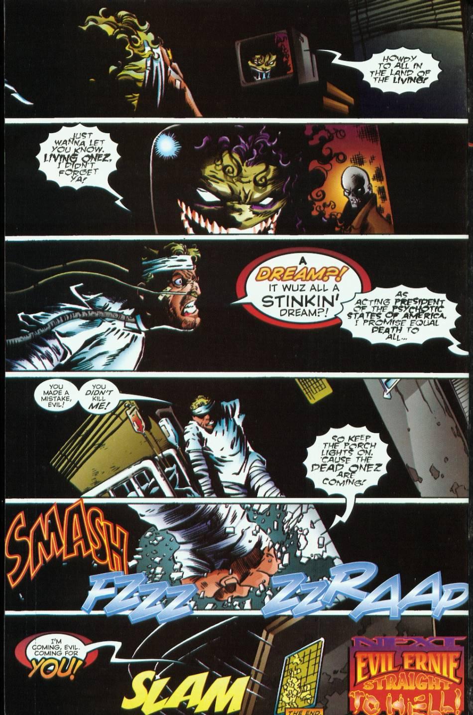 Read online Evil Ernie vs. the Superheroes comic -  Issue #1 - 30