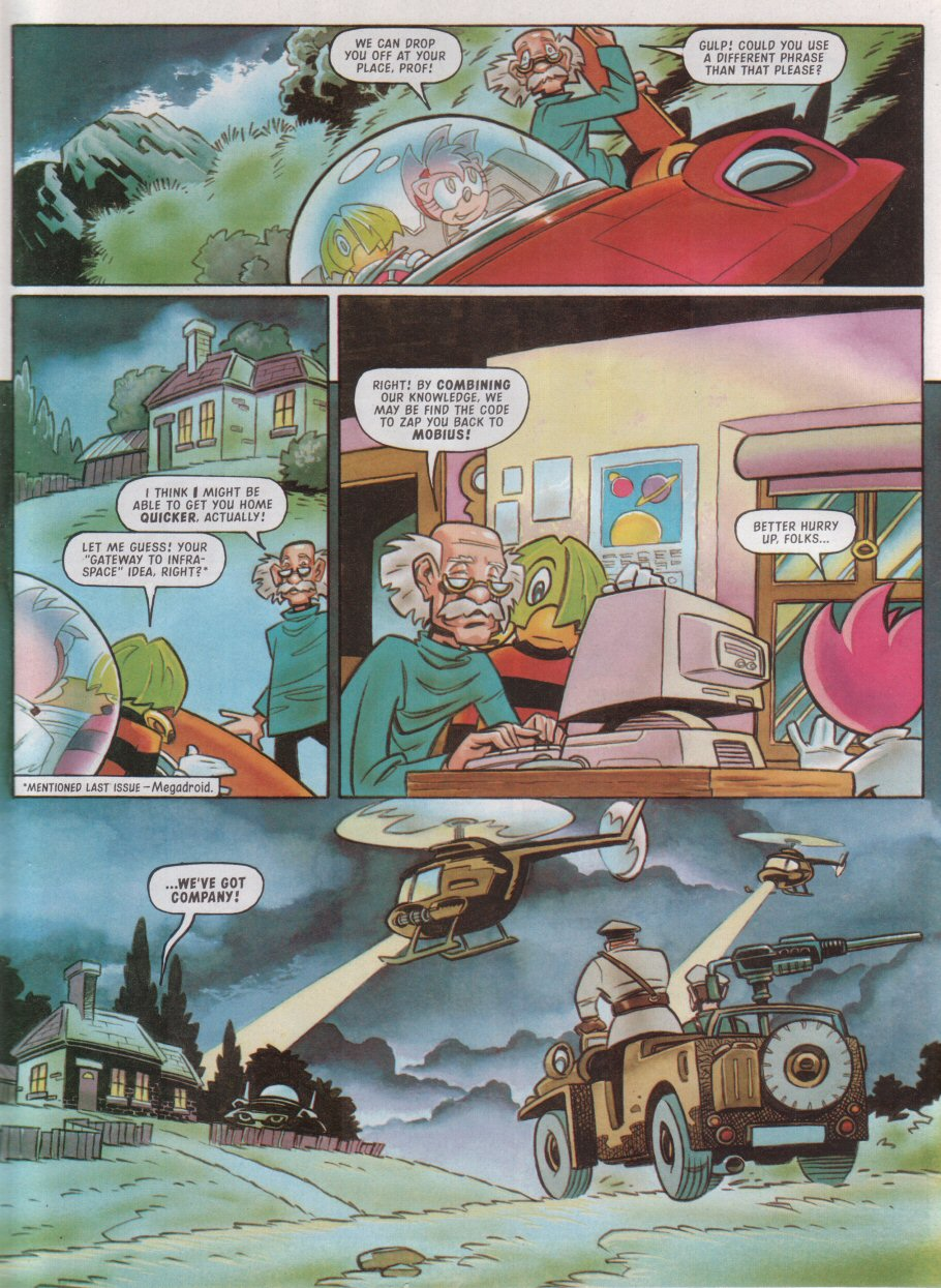 Read online Sonic the Comic comic -  Issue #115 - 24