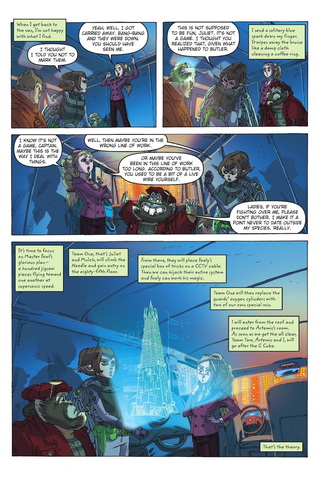 Artemis Fowl: The Eternity Code issue TPB - Page 83