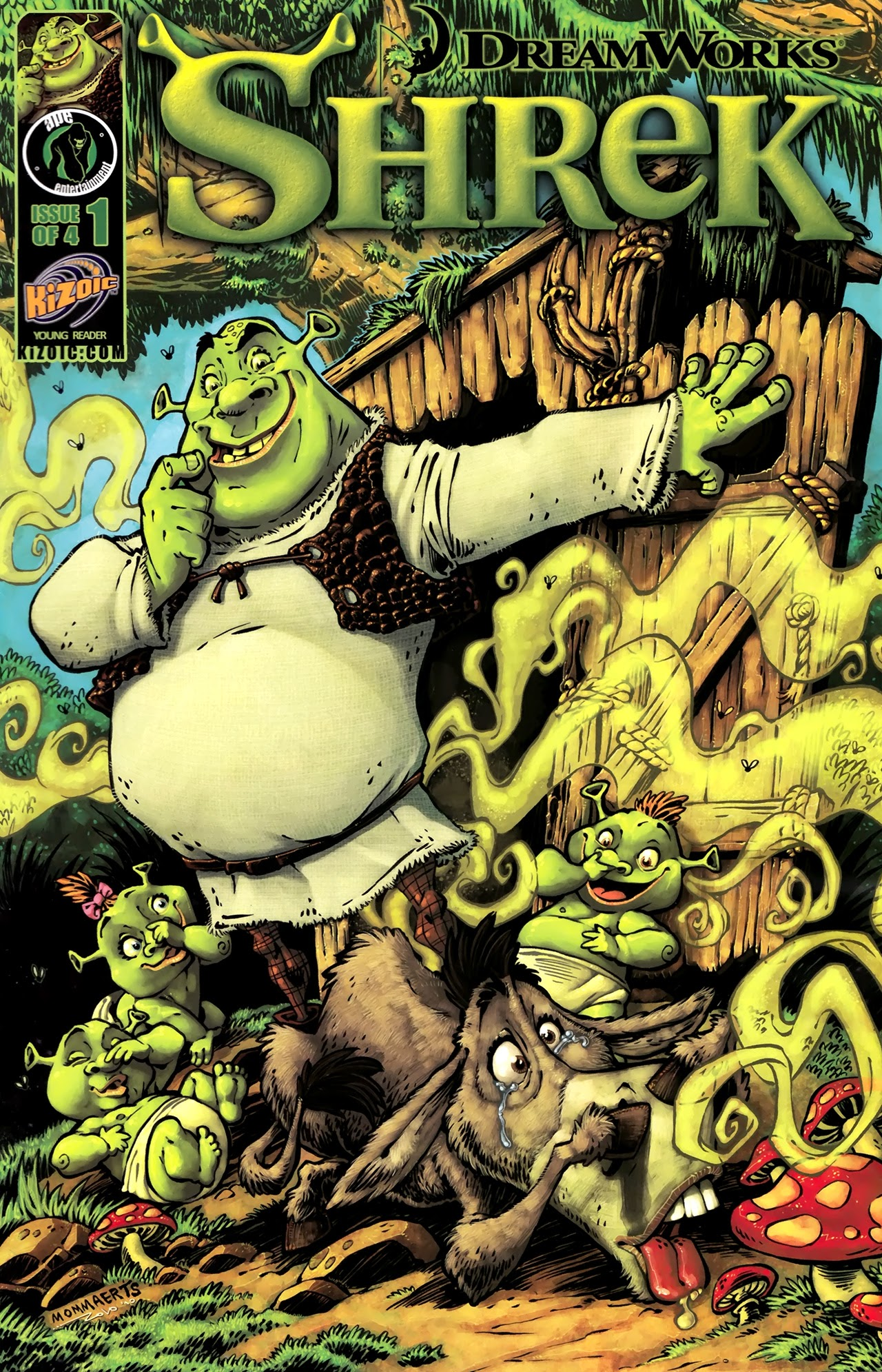 Shrek (2010) issue 1 - Page 1