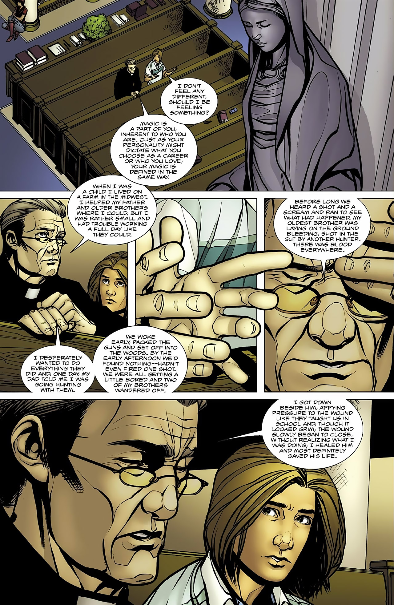Read online Magus comic -  Issue #4 - 16