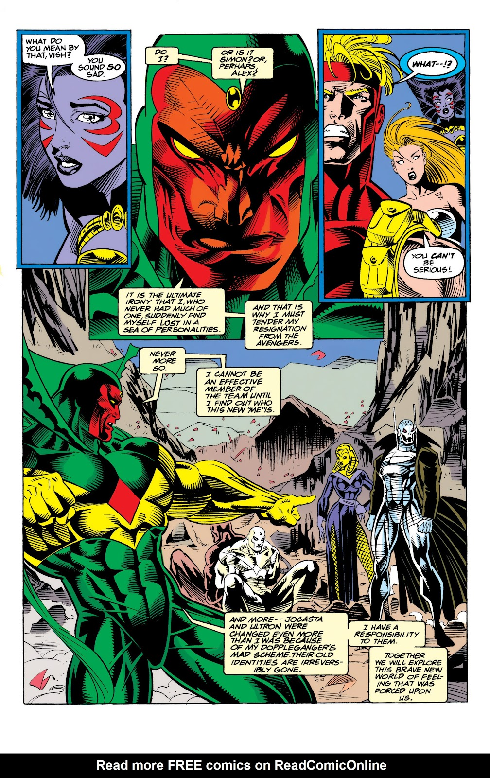 Read online The Vision comic -  Issue #4 - 23
