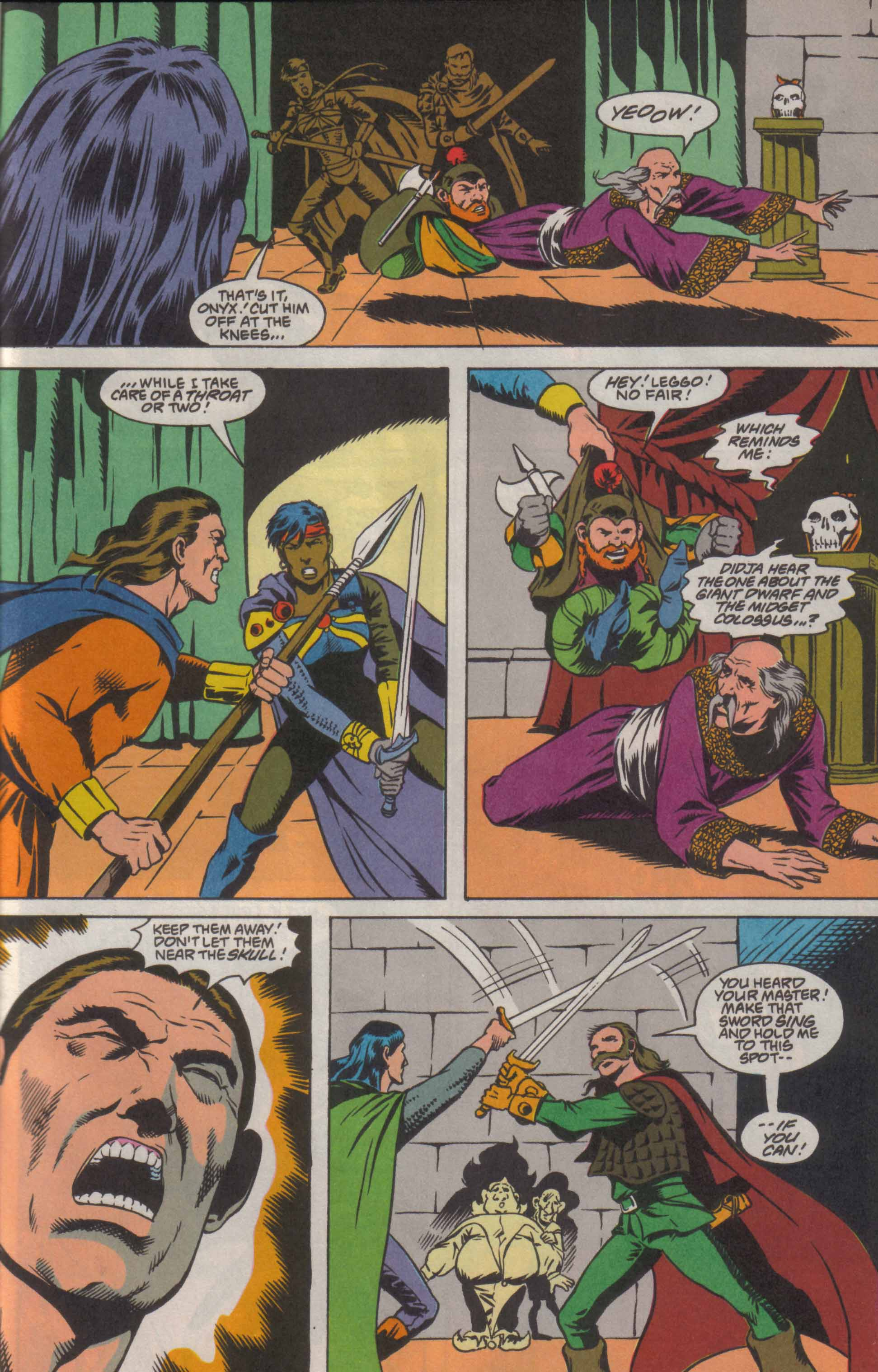 Read online Advanced Dungeons & Dragons comic -  Issue #8 - 19