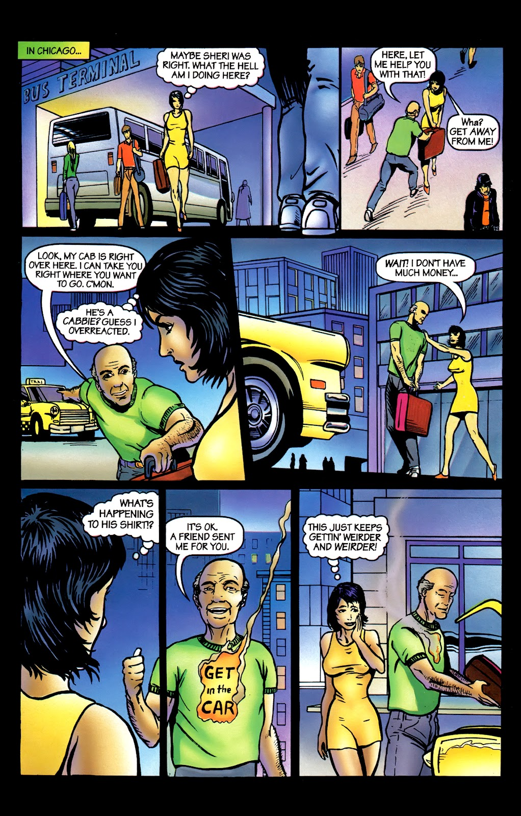Read online Perg comic -  Issue #3 - 15