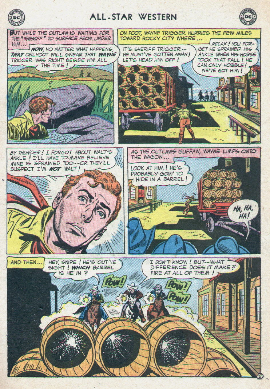 Read online All-Star Western (1951) comic -  Issue #90 - 7