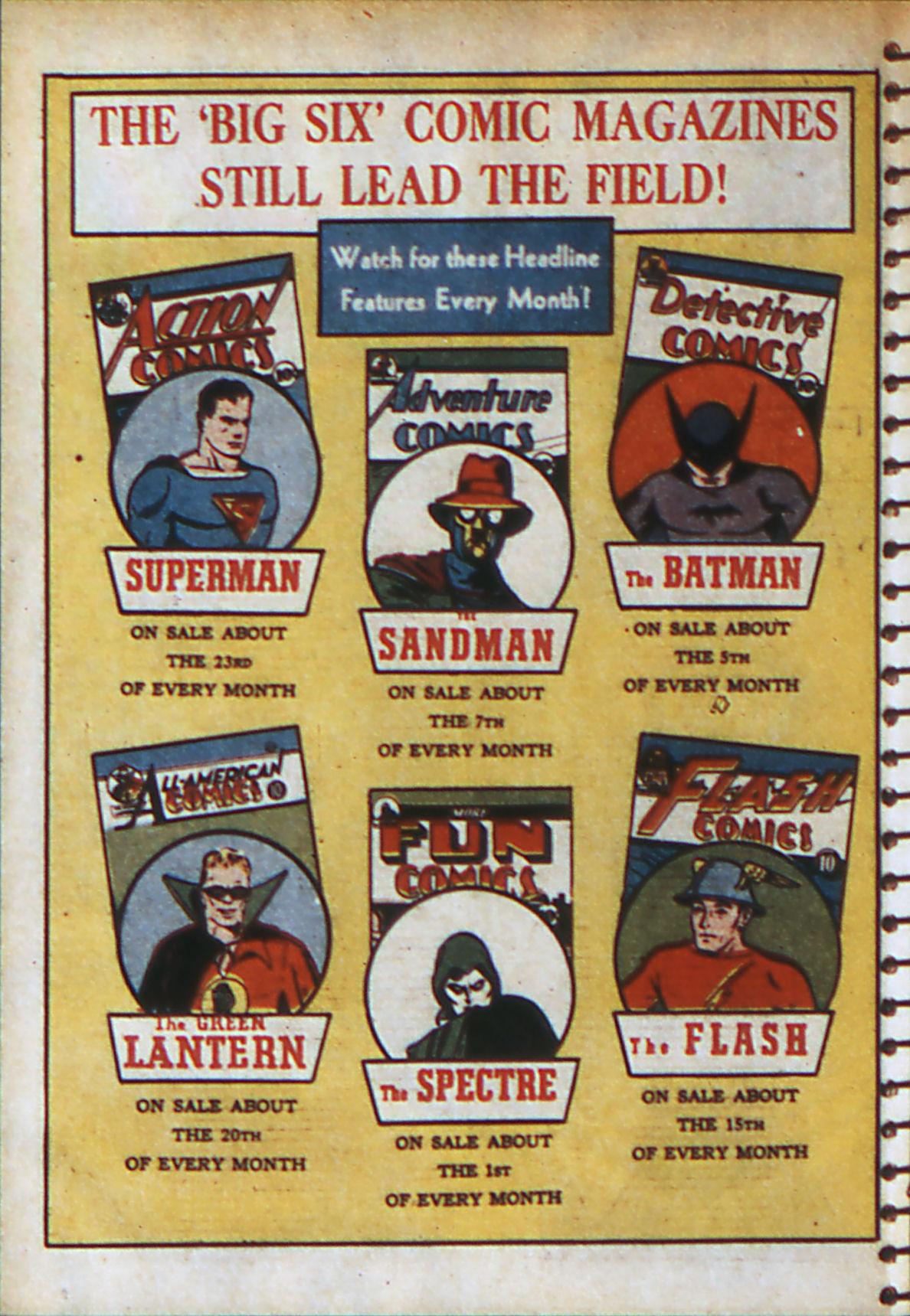 Read online Adventure Comics (1938) comic -  Issue #56 - 67