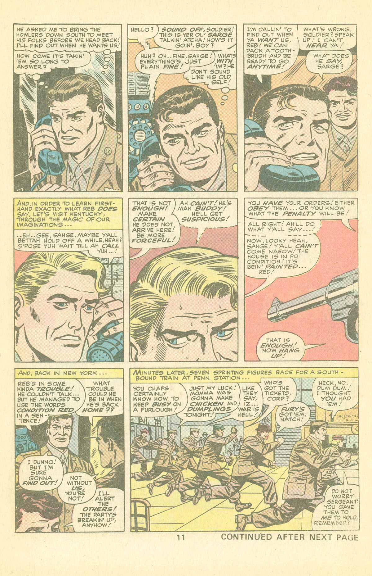 Read online Sgt. Fury comic -  Issue #126 - 13