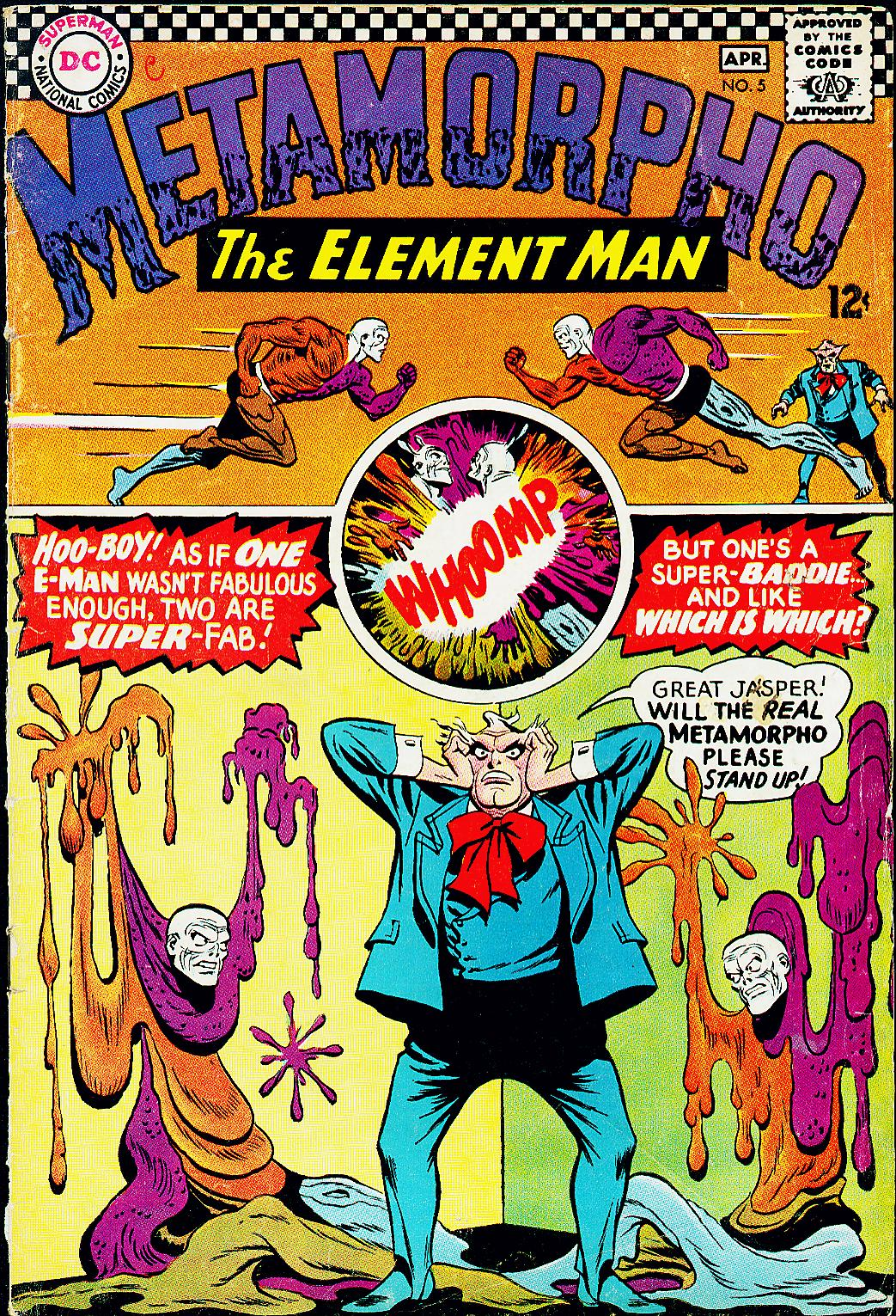 Metamorpho (1965) issue 5 - Page 1