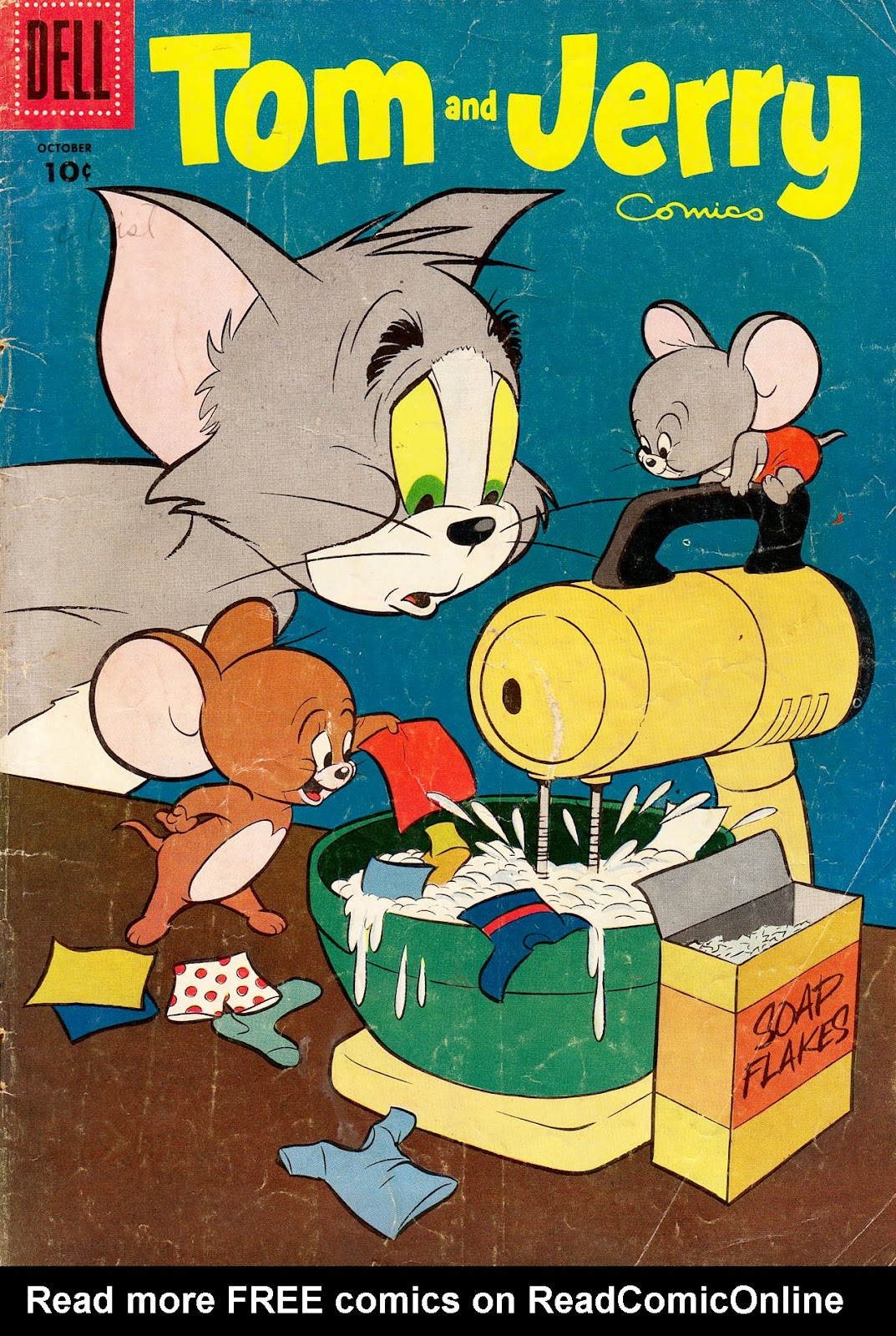 Tom & Jerry Comics issue 135 - Page 1