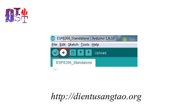 ESP8266 v12 điều khiển thiết bị qua wifi sử dụng phần mềm trên android / ios