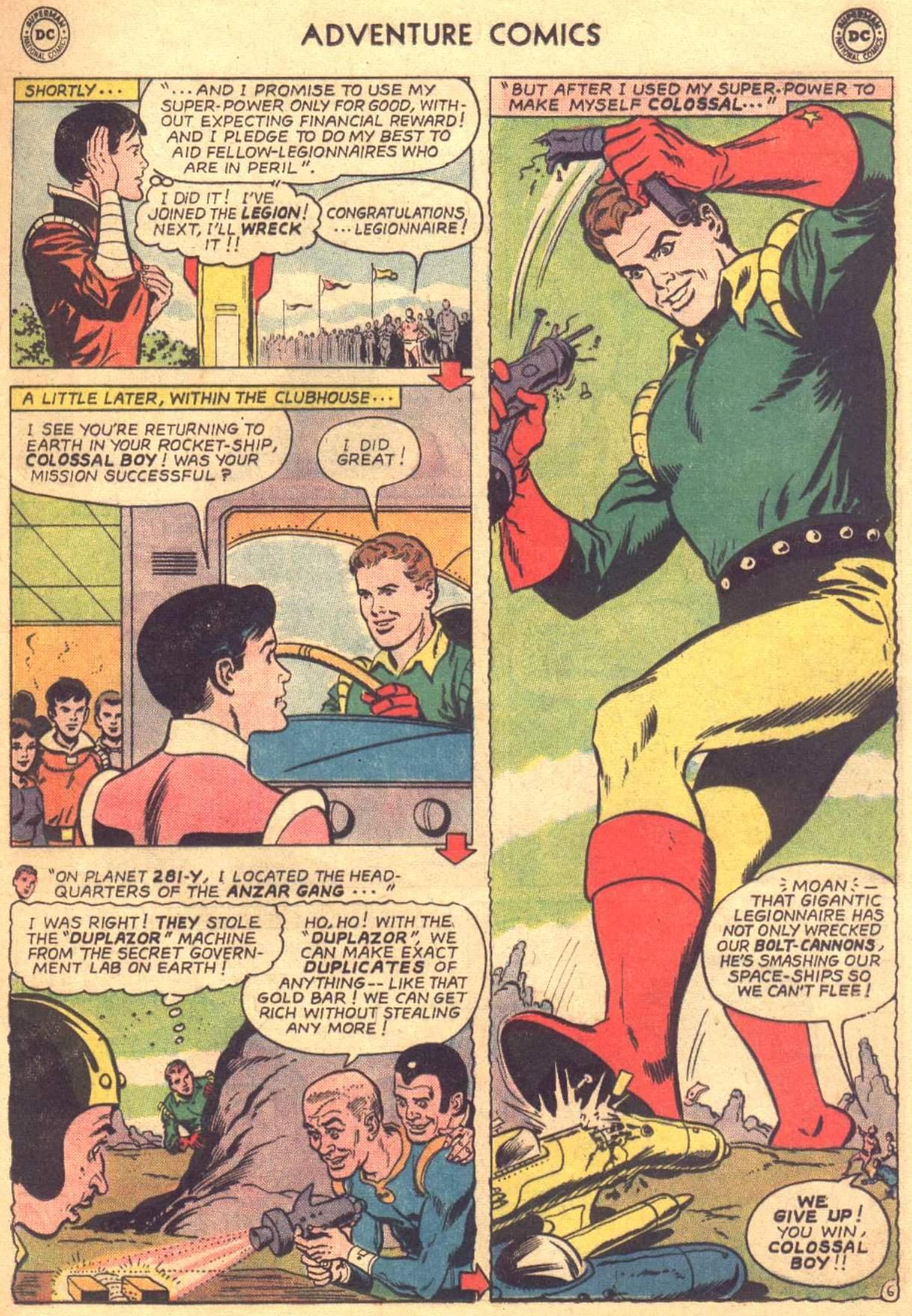 Read online Adventure Comics (1938) comic -  Issue #330 - 7