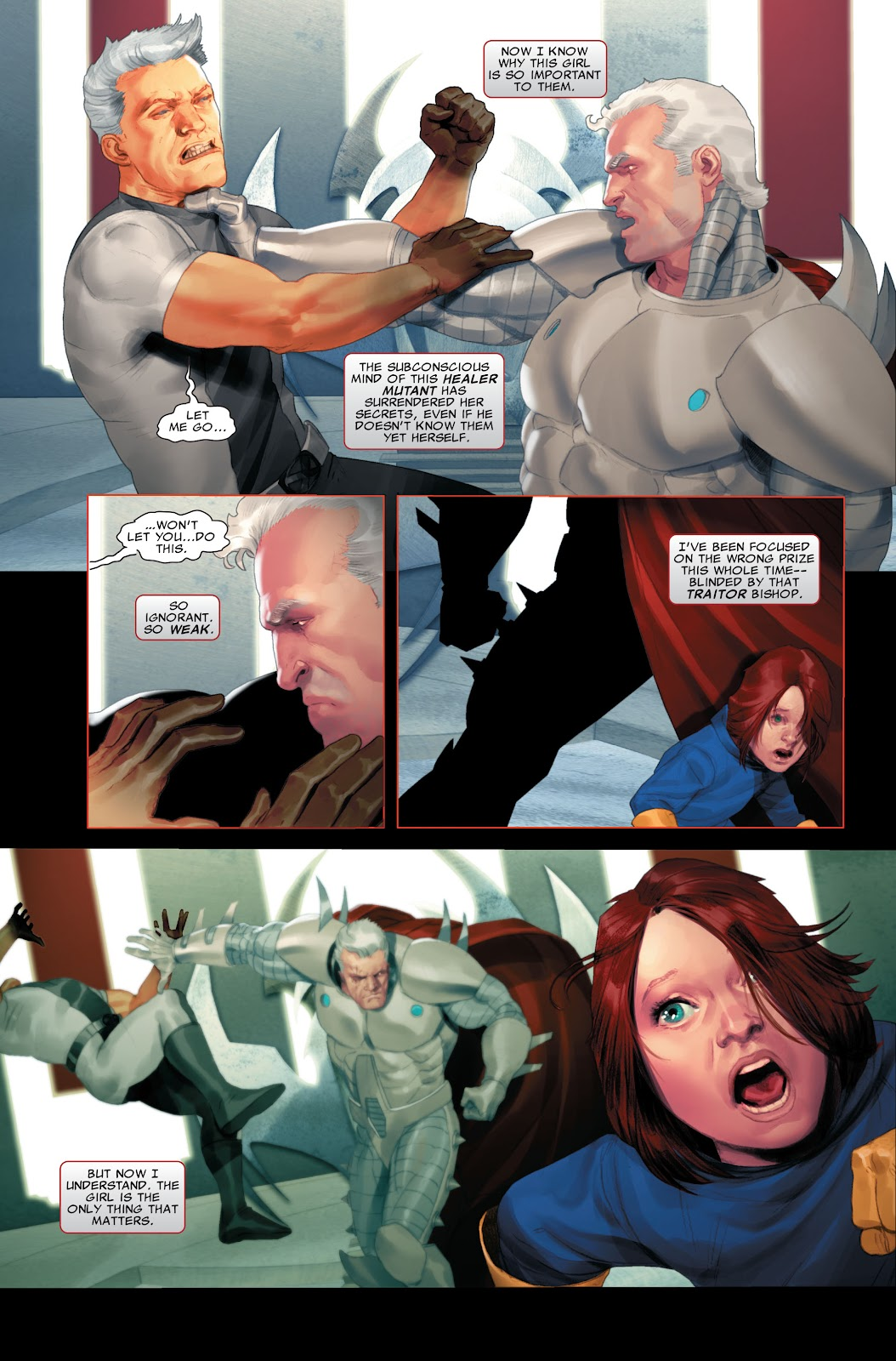 Read online X-Force/Cable: Messiah War comic -  Issue # _TPB (Part 2) - 95