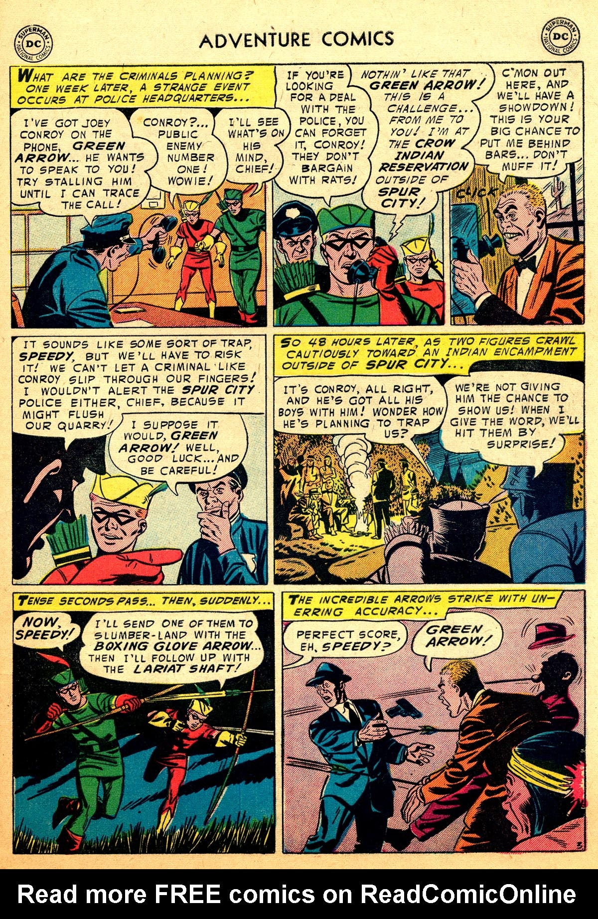 Read online Adventure Comics (1938) comic -  Issue #216 - 29