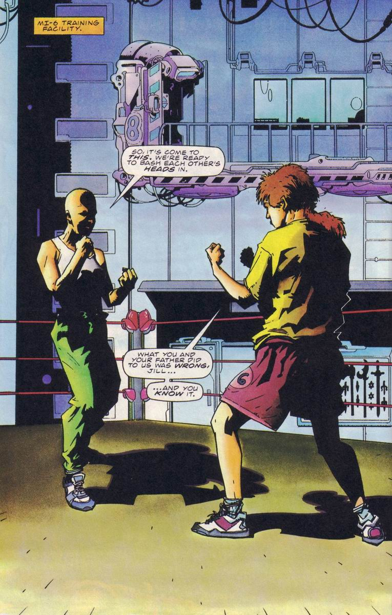 Read online Secret Weapons comic -  Issue #18 - 17