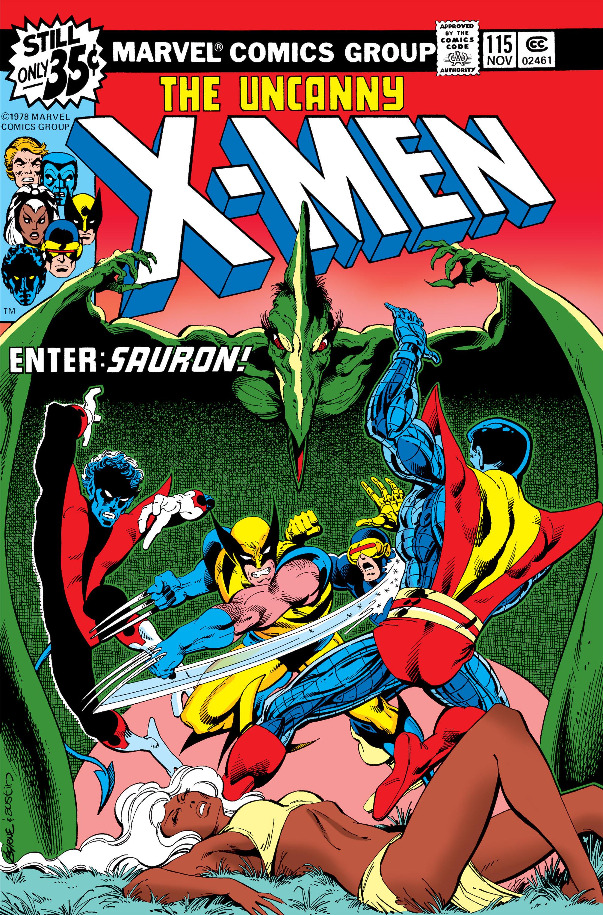 Uncanny X-Men (1963) 115 Page 1