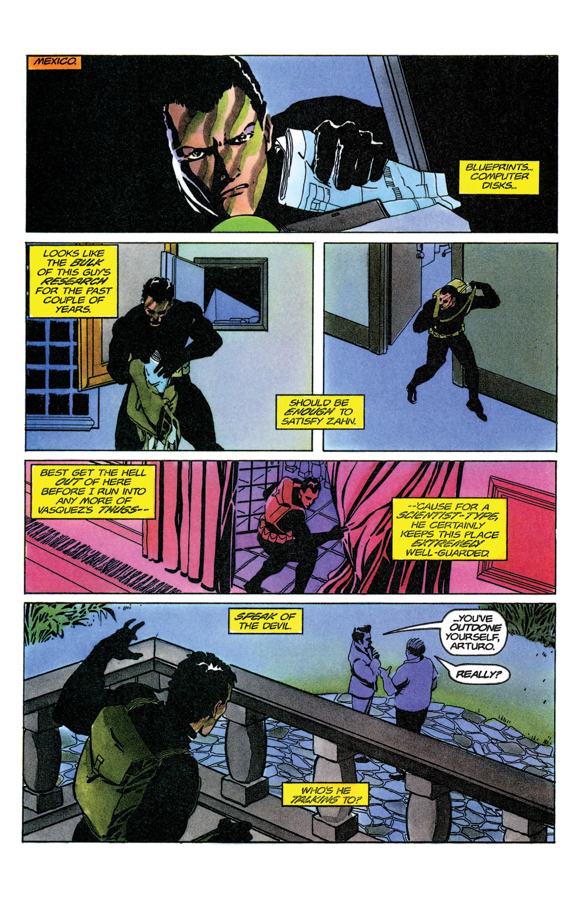 Read online Armorines comic -  Issue #9 - 9