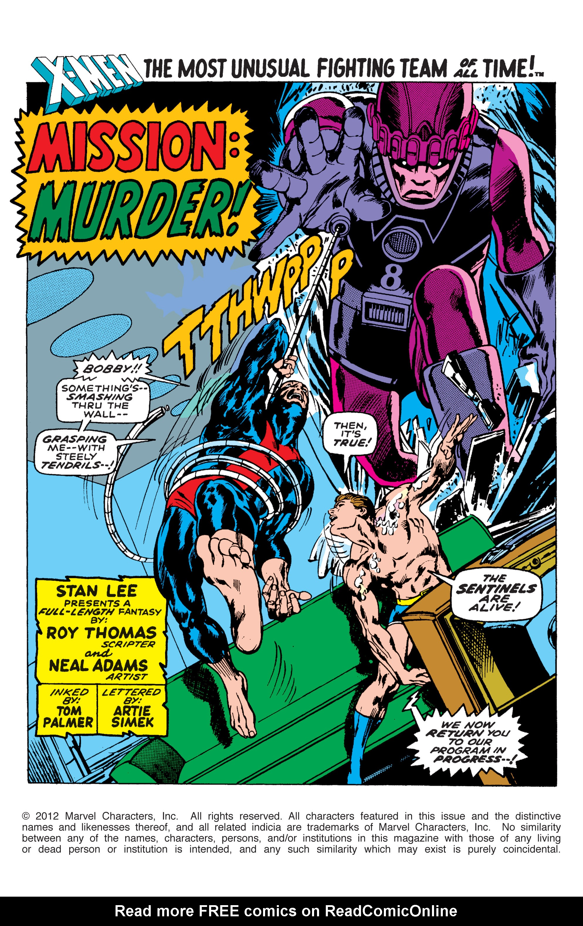 Uncanny X-Men (1963) 58 Page 1