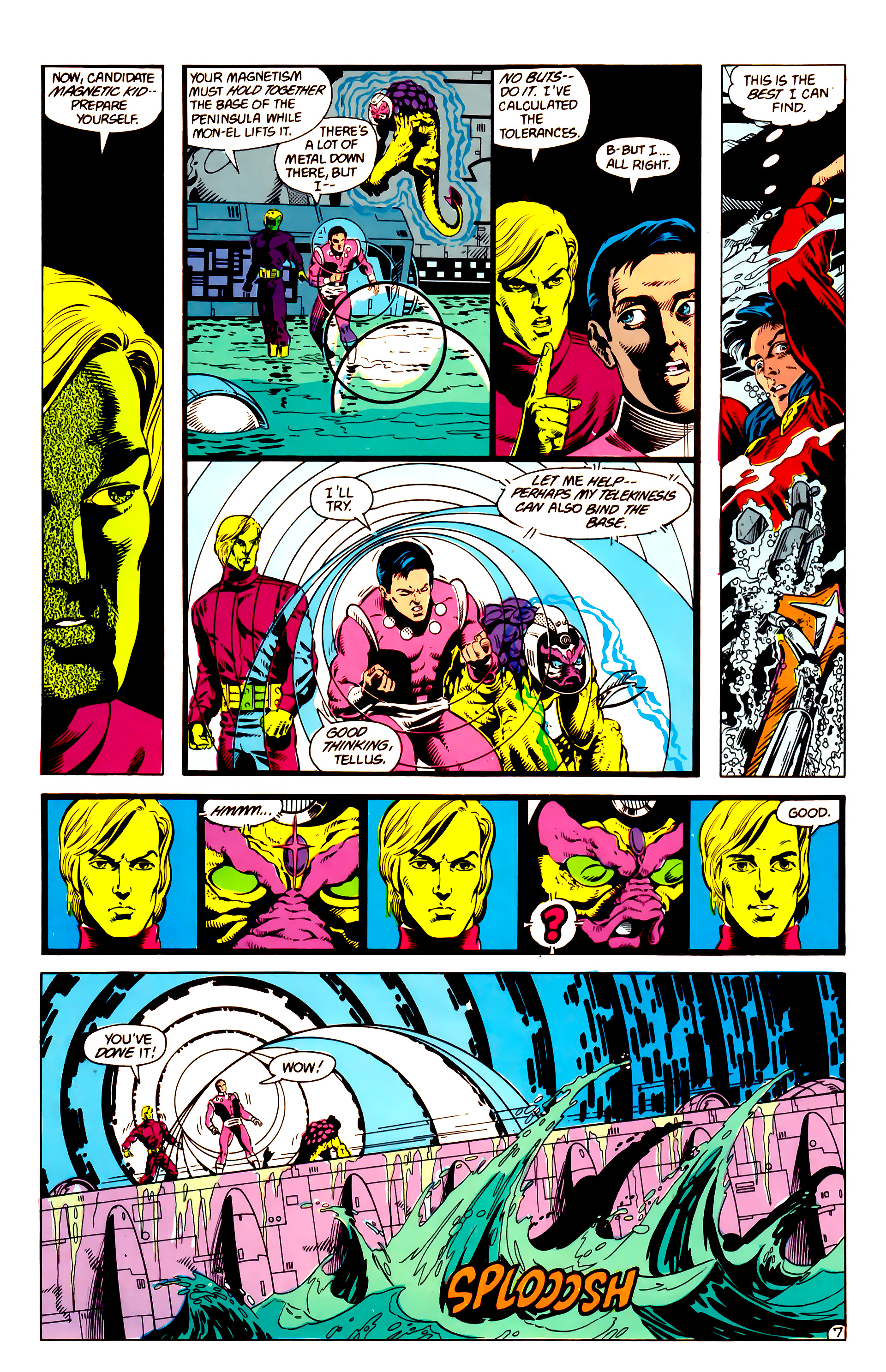 Legion of Super-Heroes (1984) 14 Page 8