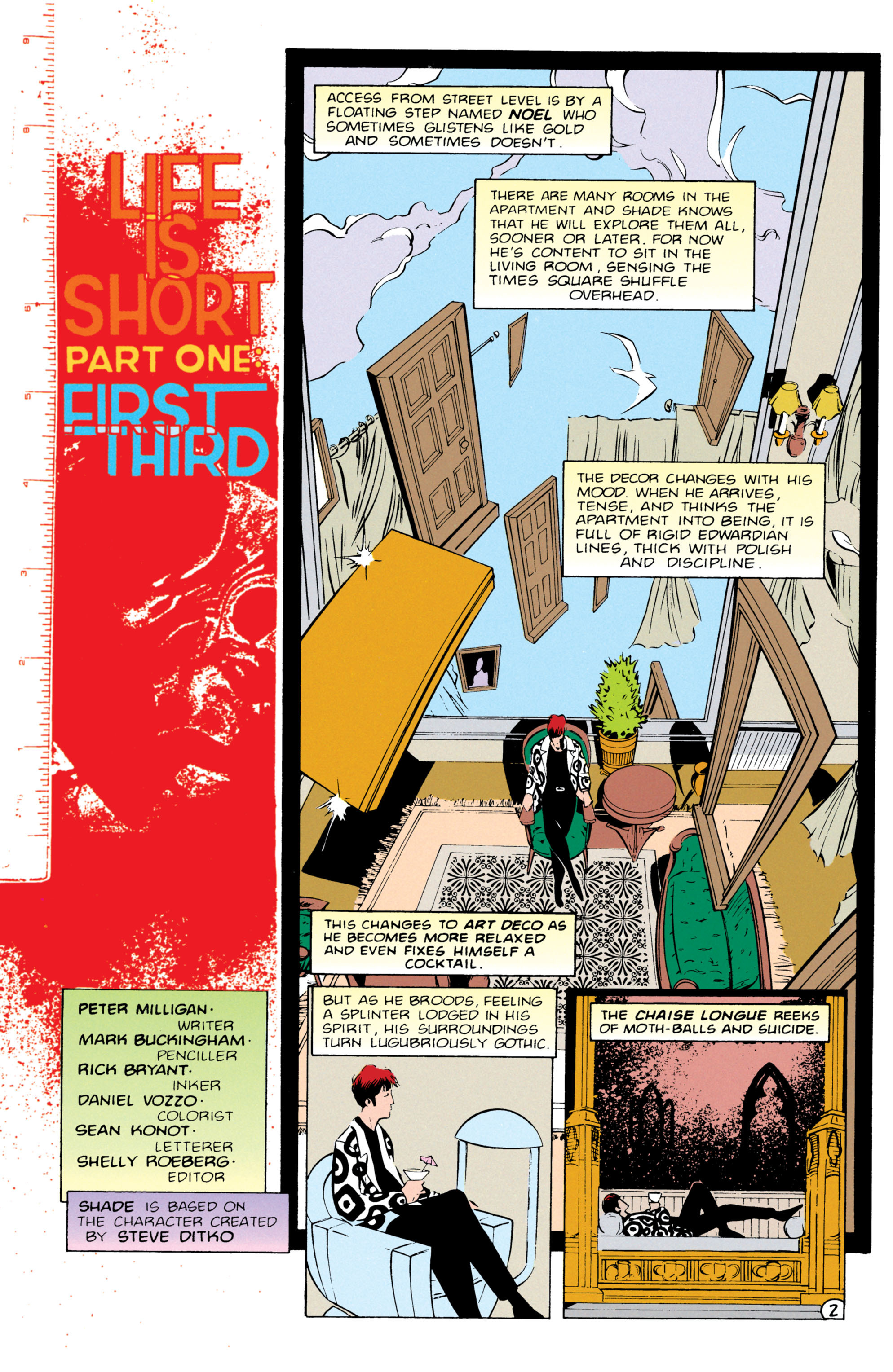 Read online Shade, the Changing Man comic -  Issue #55 - 3