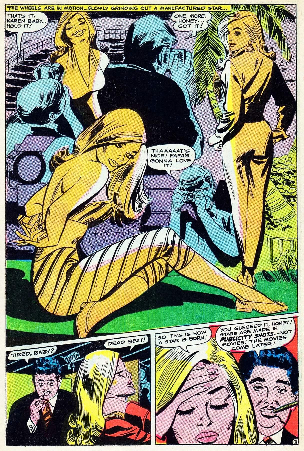 Read online Secret Hearts comic -  Issue #133 - 22